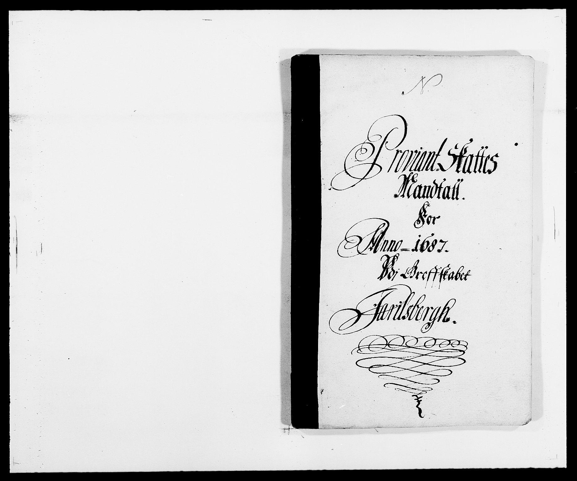 RA, Rentekammeret inntil 1814, Reviderte regnskaper, Fogderegnskap, R32/L1858: Fogderegnskap Jarlsberg grevskap, 1686-1690, s. 86