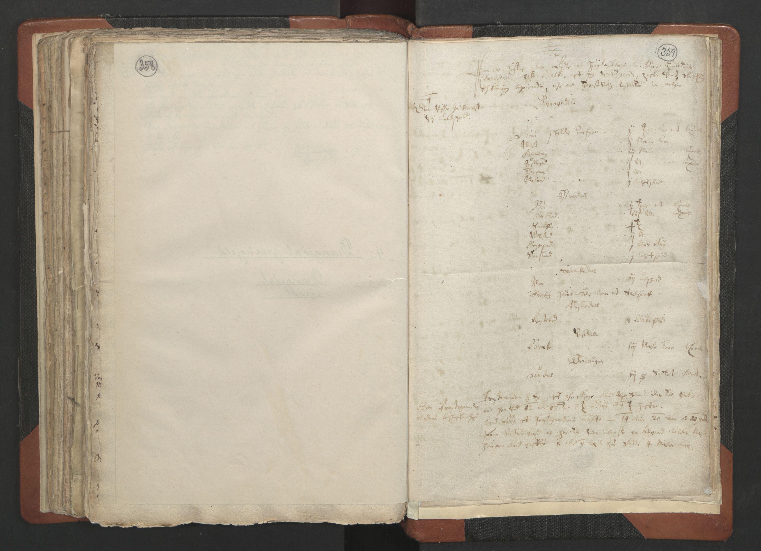 RA, Sogneprestenes manntall 1664-1666, nr. 12: Øvre Telemark prosti, Nedre Telemark prosti og Bamble prosti, 1664-1666, s. 358-359