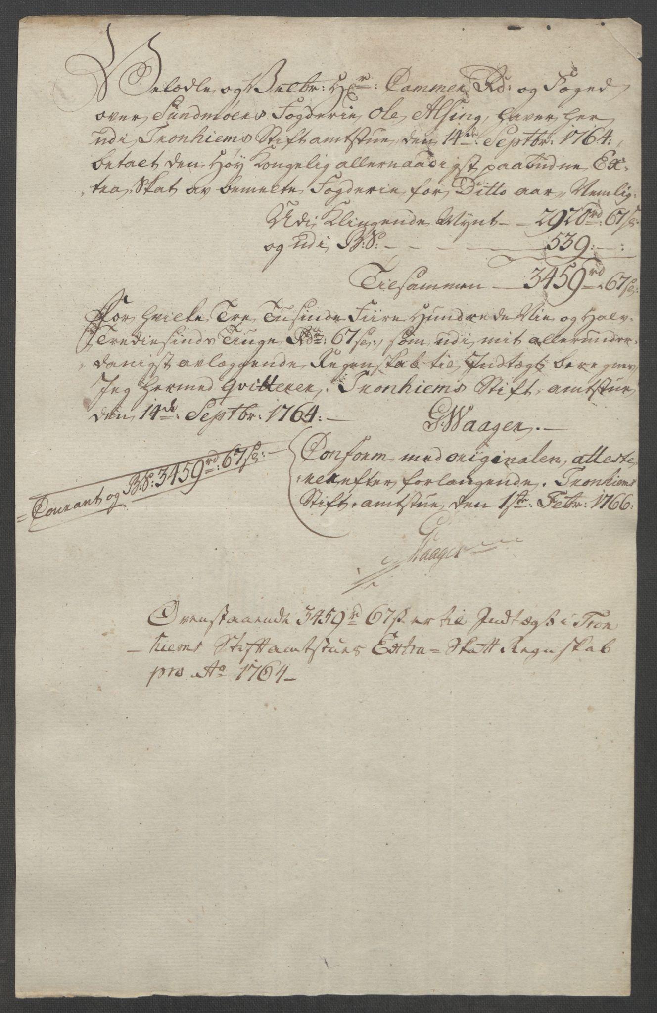 RA, Rentekammeret inntil 1814, Reviderte regnskaper, Fogderegnskap, R54/L3645: Ekstraskatten Sunnmøre, 1762-1772, s. 50