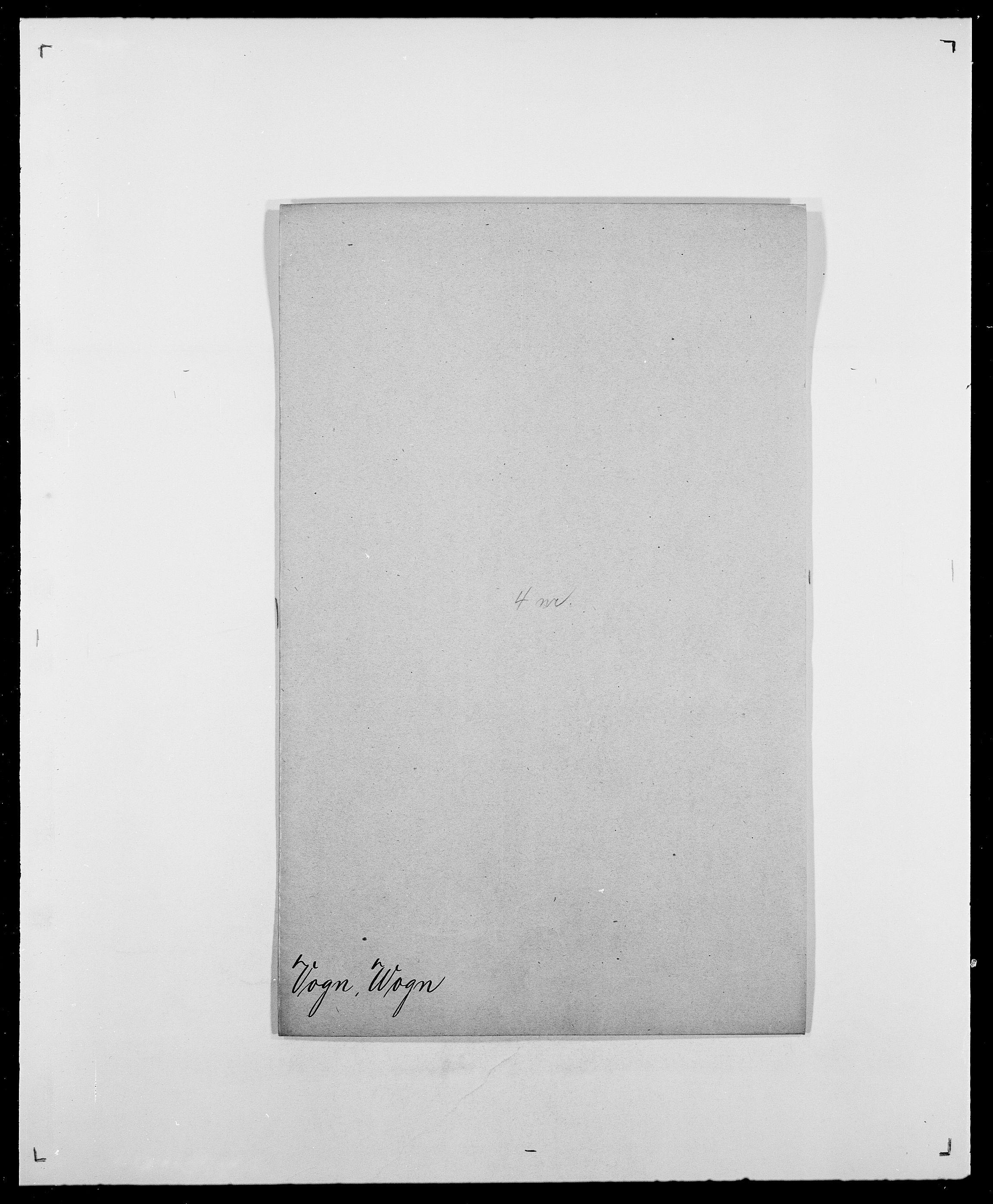 SAO, Delgobe, Charles Antoine - samling, D/Da/L0042: Vilain - Wulf, Wulff, se også Wolf, s. 539