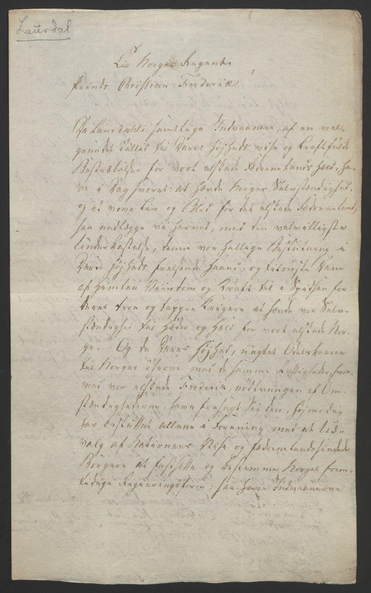 RA, Statsrådssekretariatet, D/Db/L0008: Fullmakter for Eidsvollsrepresentantene i 1814. , 1814, s. 14