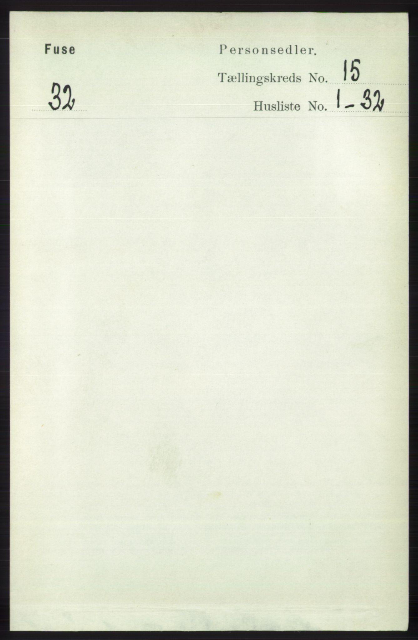 RA, Folketelling 1891 for 1241 Fusa herred, 1891, s. 3393