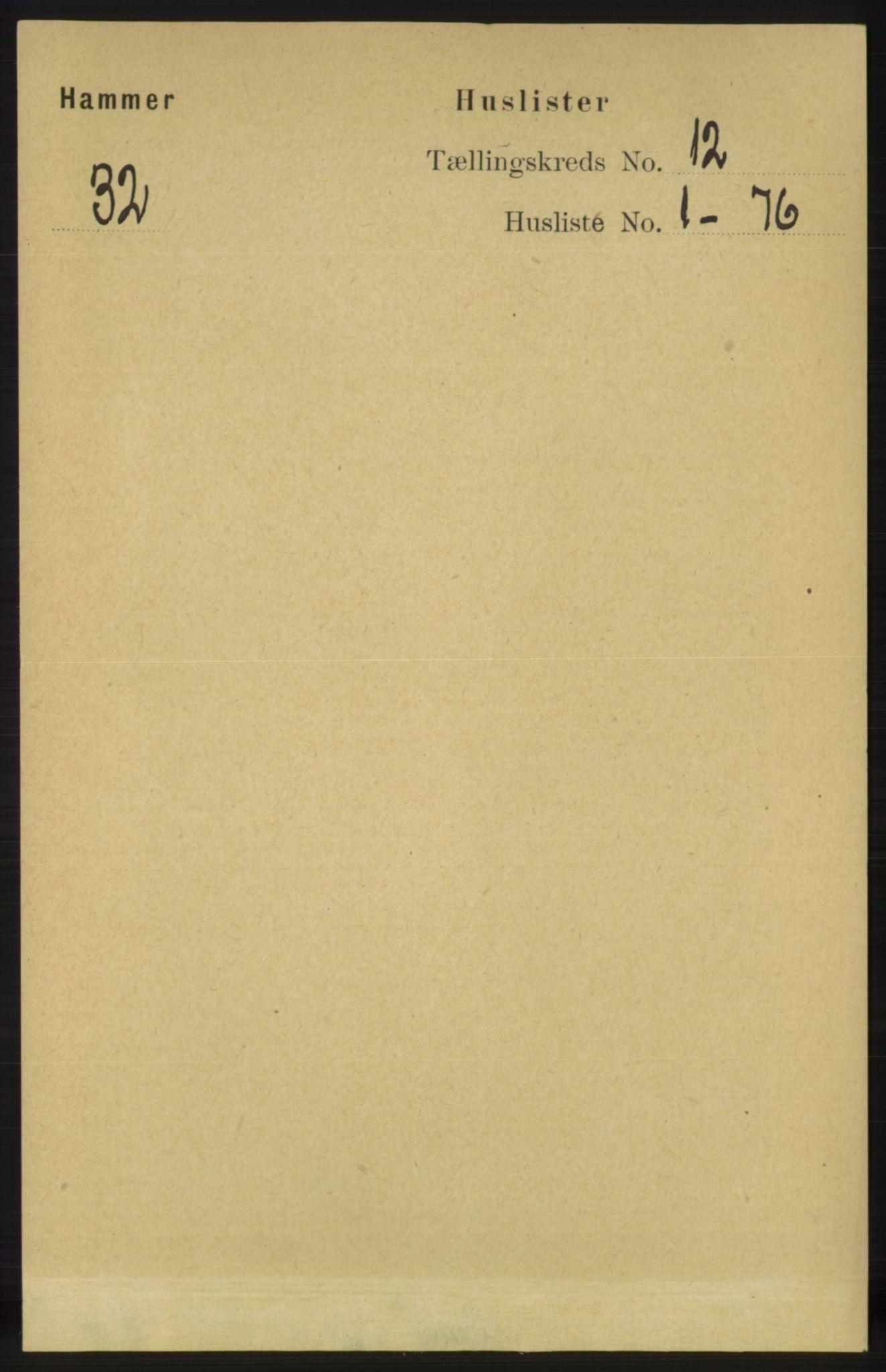 RA, Folketelling 1891 for 1254 Hamre herred, 1891, s. 3408