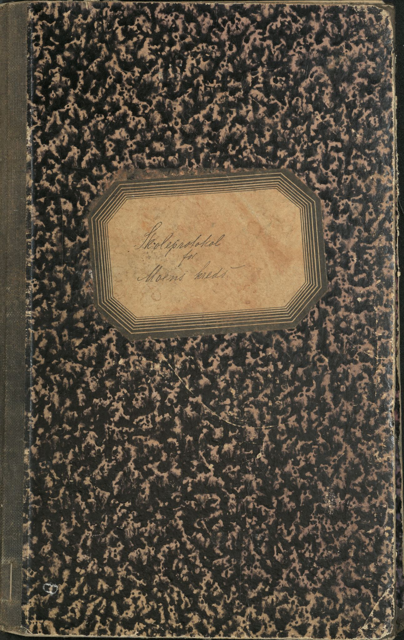 AT, Målselv kommune, -: Skoleprotokoll for Moens krets, 1887-1891
