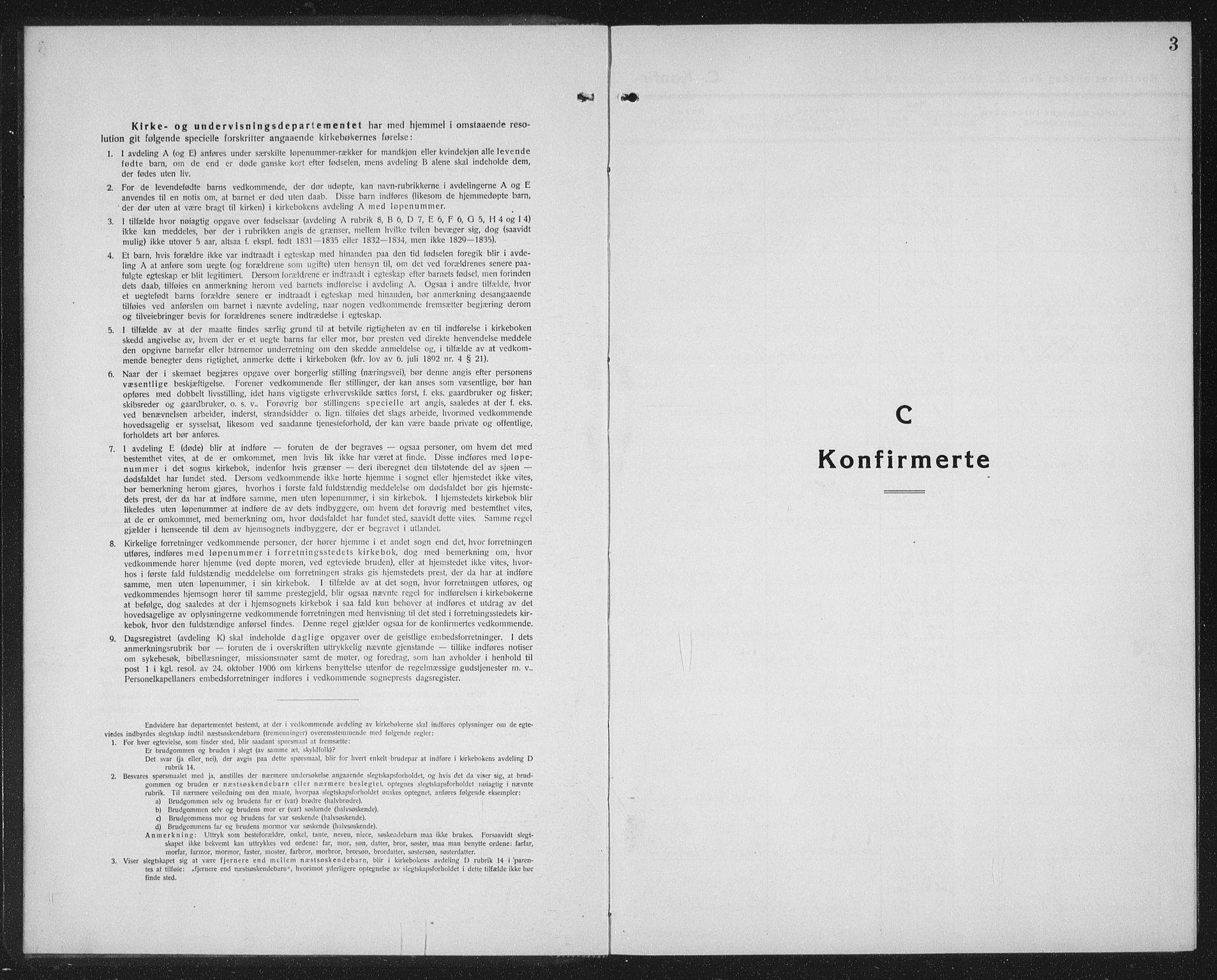 SAT, Ministerialprotokoller, klokkerbøker og fødselsregistre - Sør-Trøndelag, 603/L0175: Klokkerbok nr. 603C03, 1923-1941, s. 3