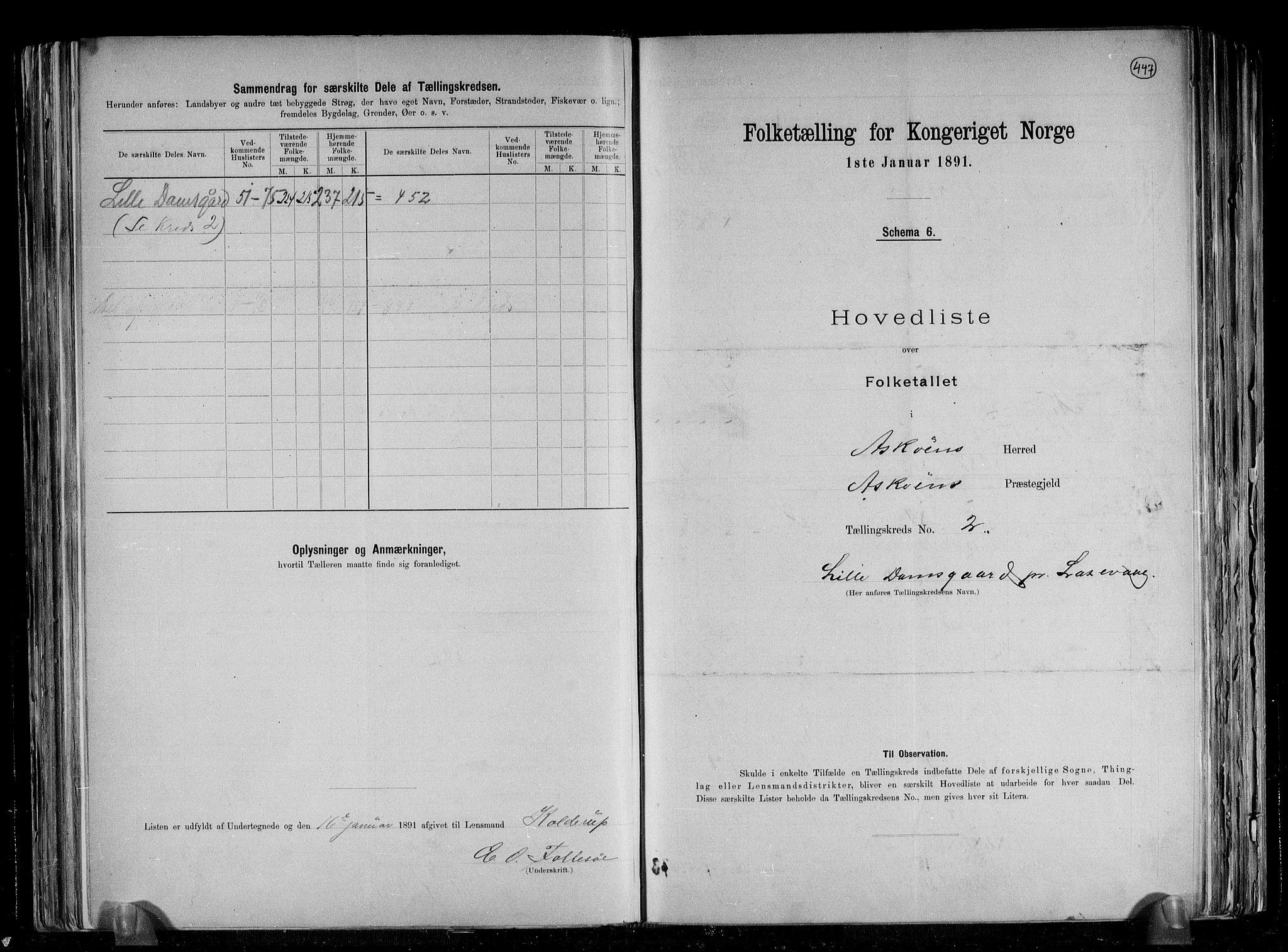 RA, Folketelling 1891 for 1247 Askøy herred, 1891, s. 9