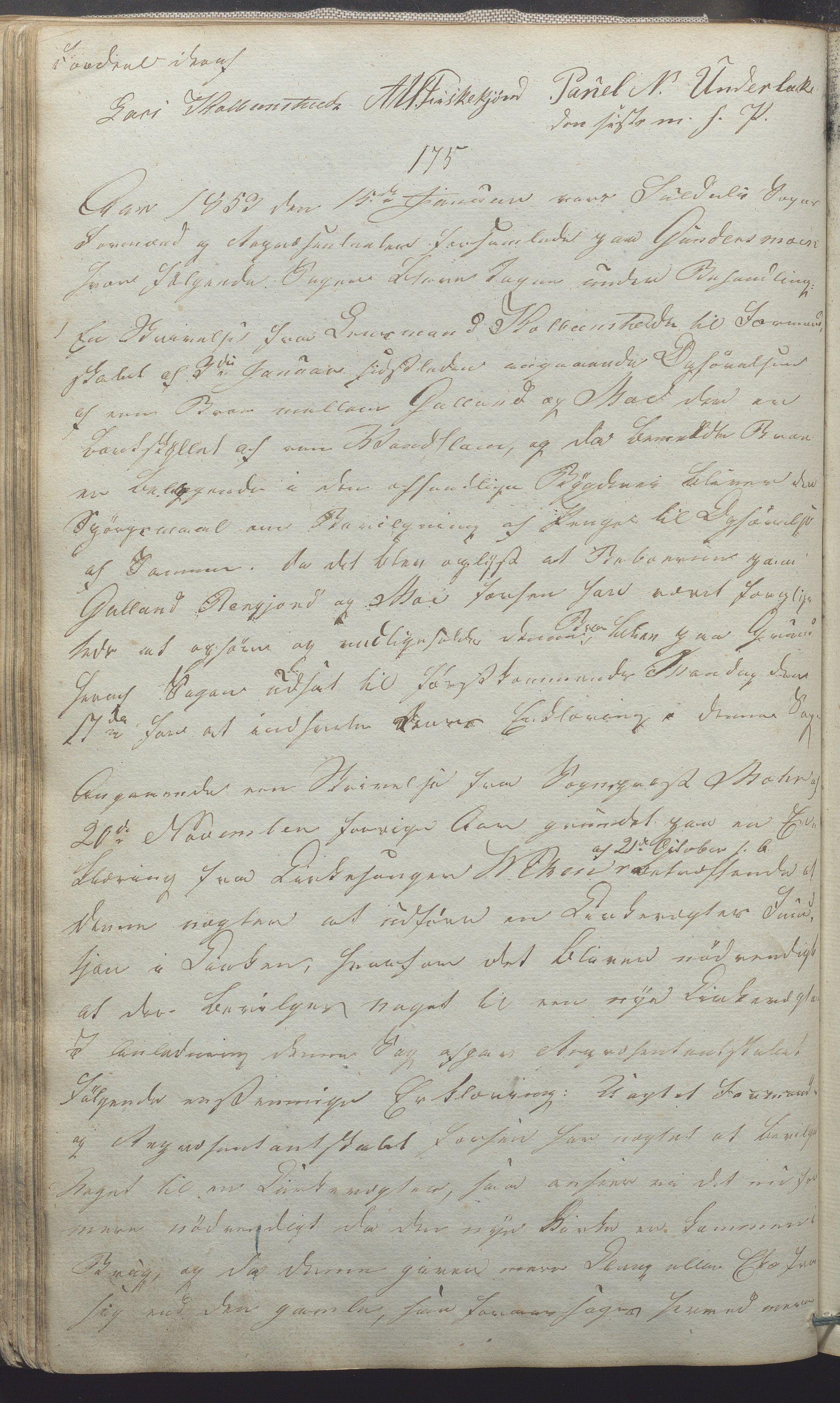 IKAR, Suldal kommune - Formannskapet/Rådmannen, A/Aa/L0001: Møtebok, 1837-1876, s. 96b
