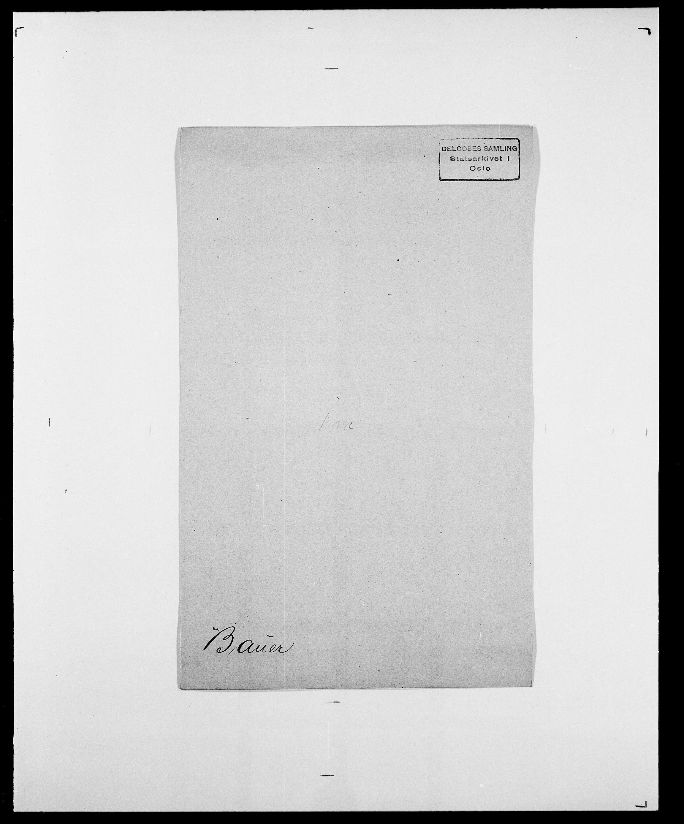 SAO, Delgobe, Charles Antoine - samling, D/Da/L0003: Barca - Bergen, s. 439