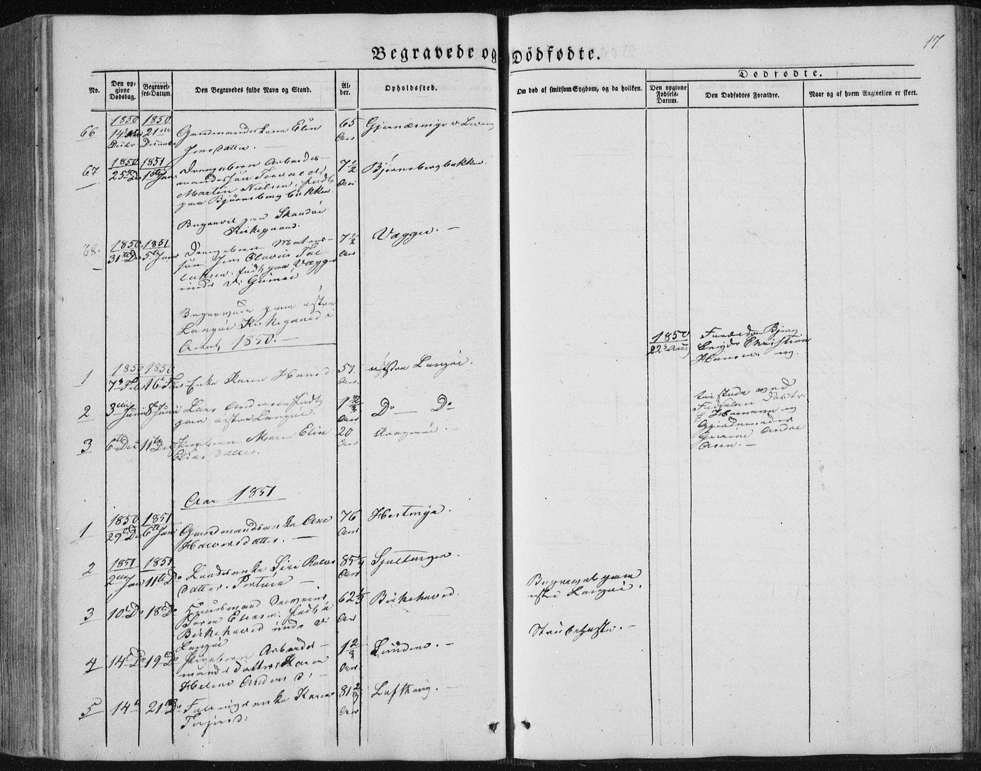 SAKO, Sannidal kirkebøker, F/Fa/L0008: Ministerialbok nr. 8, 1847-1862, s. 17