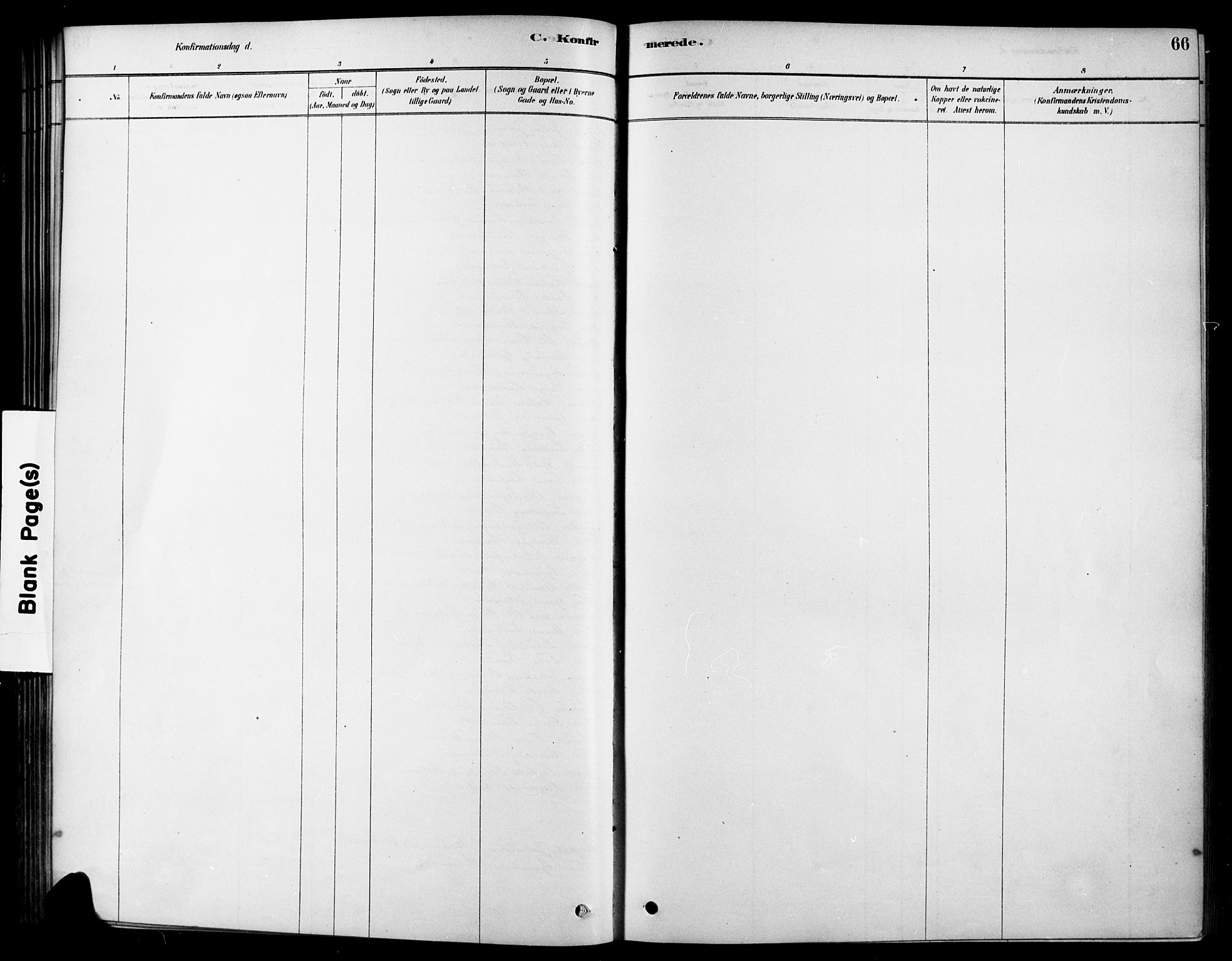 SAKO, Heddal kirkebøker, F/Fa/L0009: Ministerialbok nr. I 9, 1878-1903, s. 66