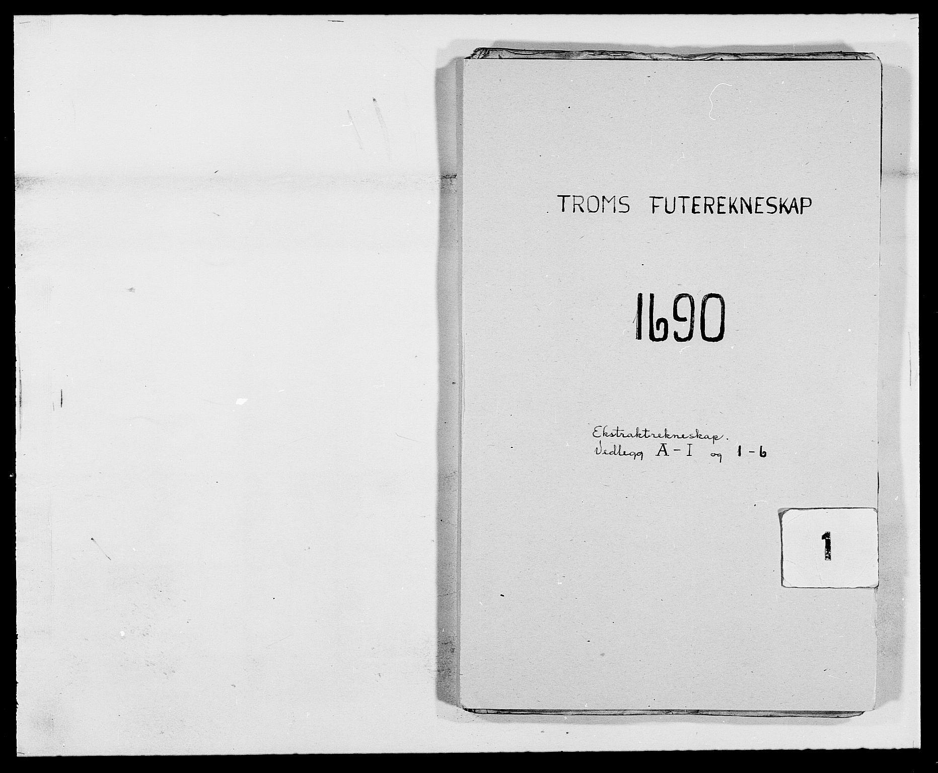 RA, Rentekammeret inntil 1814, Reviderte regnskaper, Fogderegnskap, R68/L4751: Fogderegnskap Senja og Troms, 1690-1693, s. 1