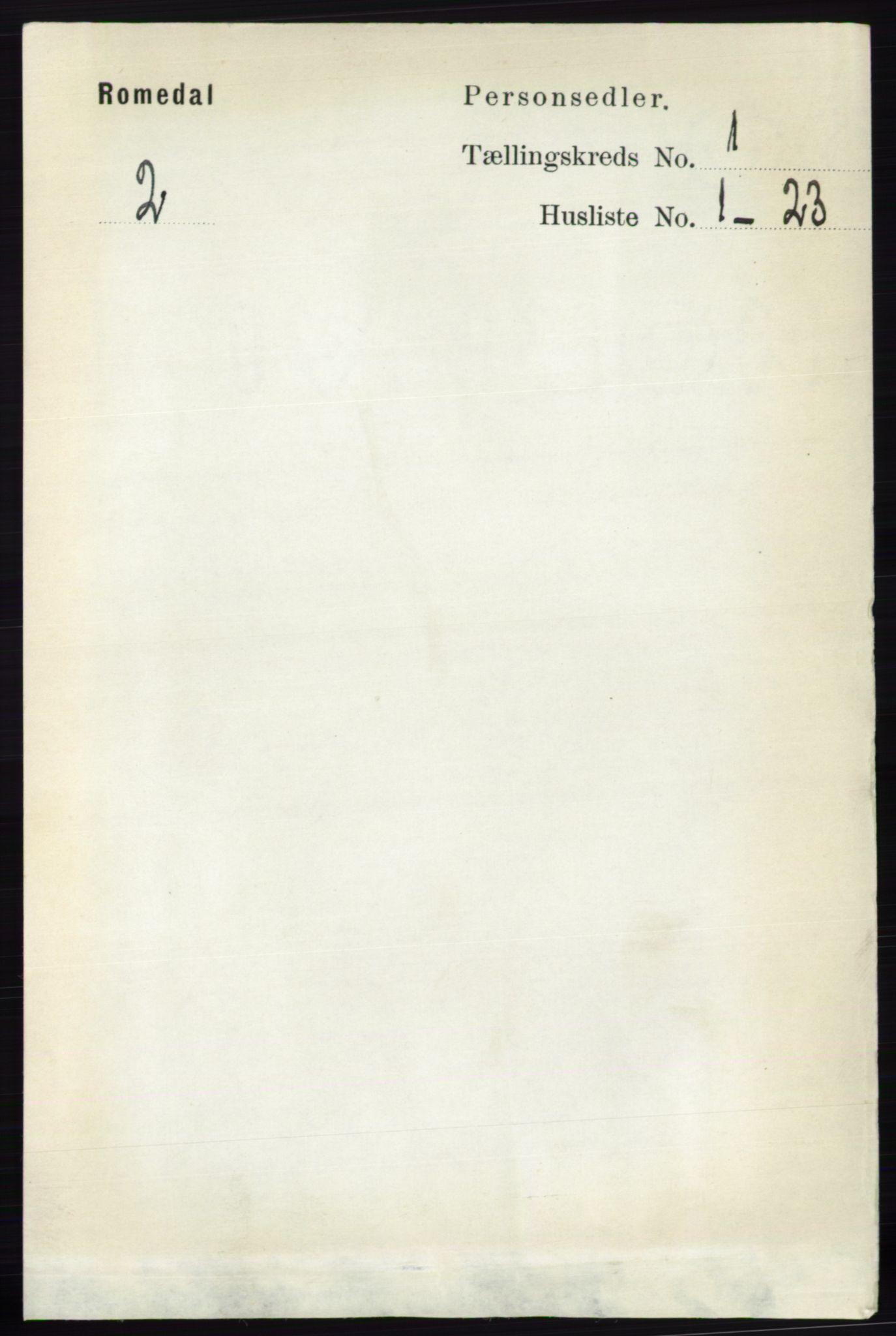 RA, Folketelling 1891 for 0416 Romedal herred, 1891, s. 118