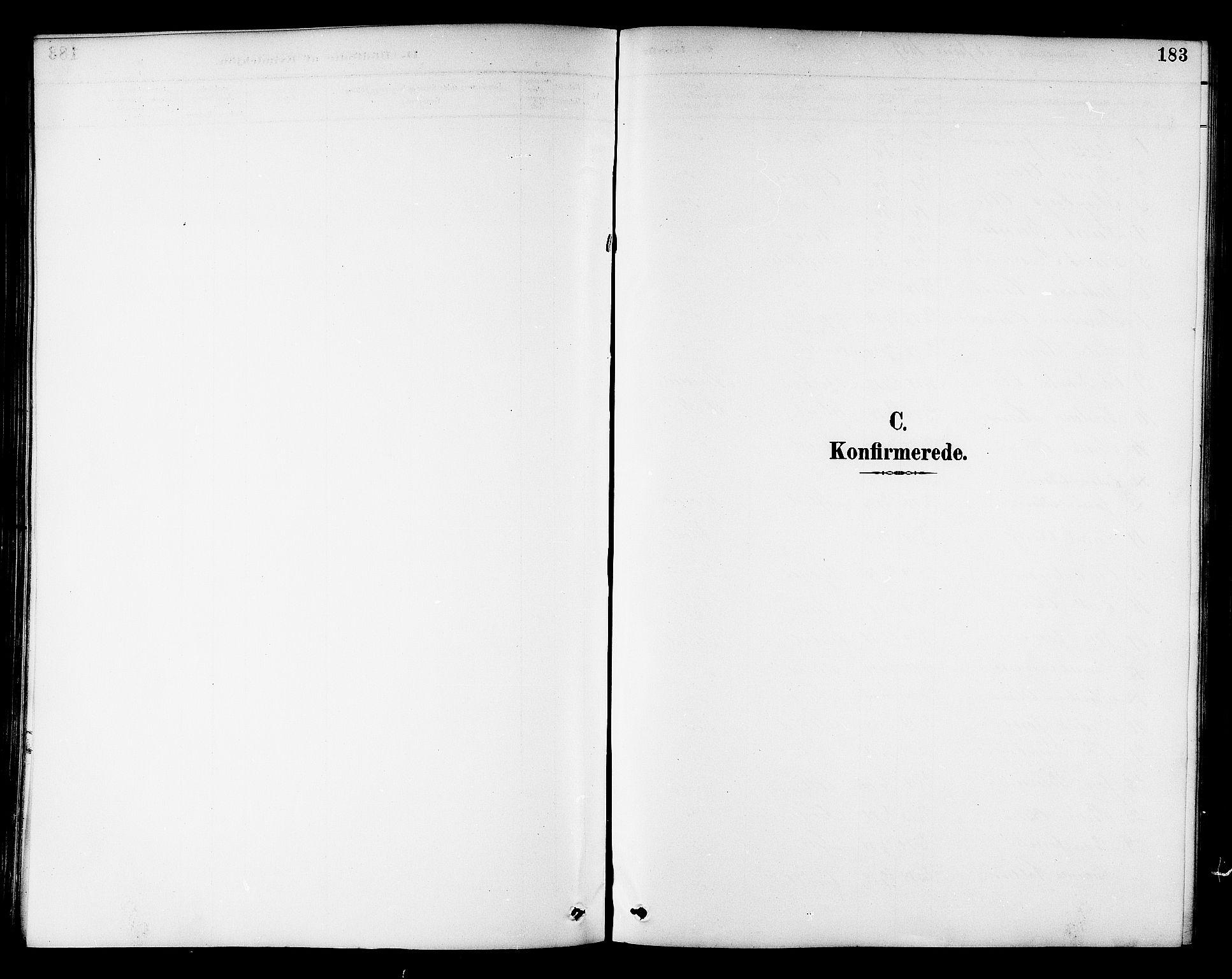 SAT, Ministerialprotokoller, klokkerbøker og fødselsregistre - Sør-Trøndelag, 695/L1157: Klokkerbok nr. 695C08, 1889-1913, s. 183