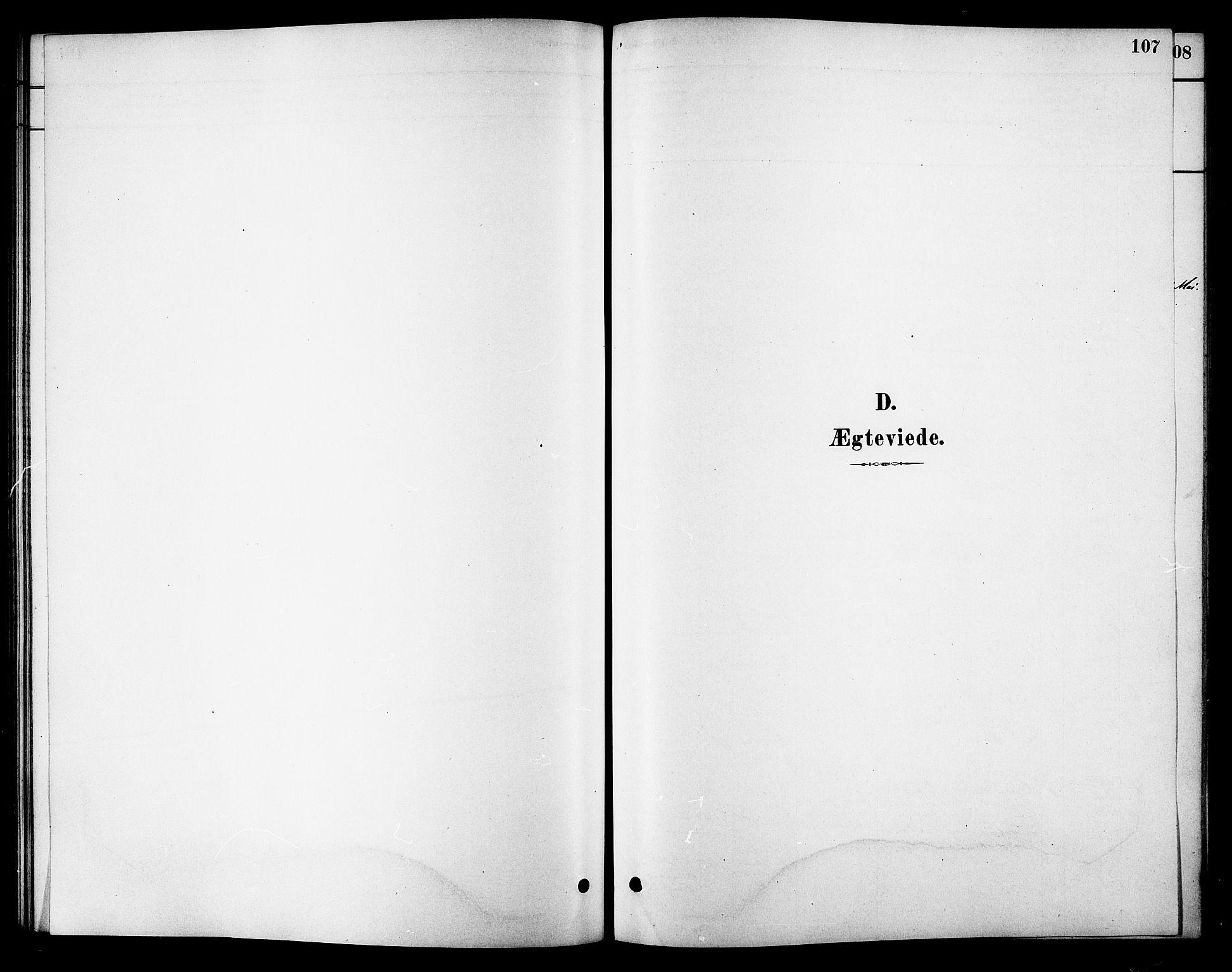 SAT, Ministerialprotokoller, klokkerbøker og fødselsregistre - Sør-Trøndelag, 688/L1024: Ministerialbok nr. 688A01, 1879-1890, s. 107
