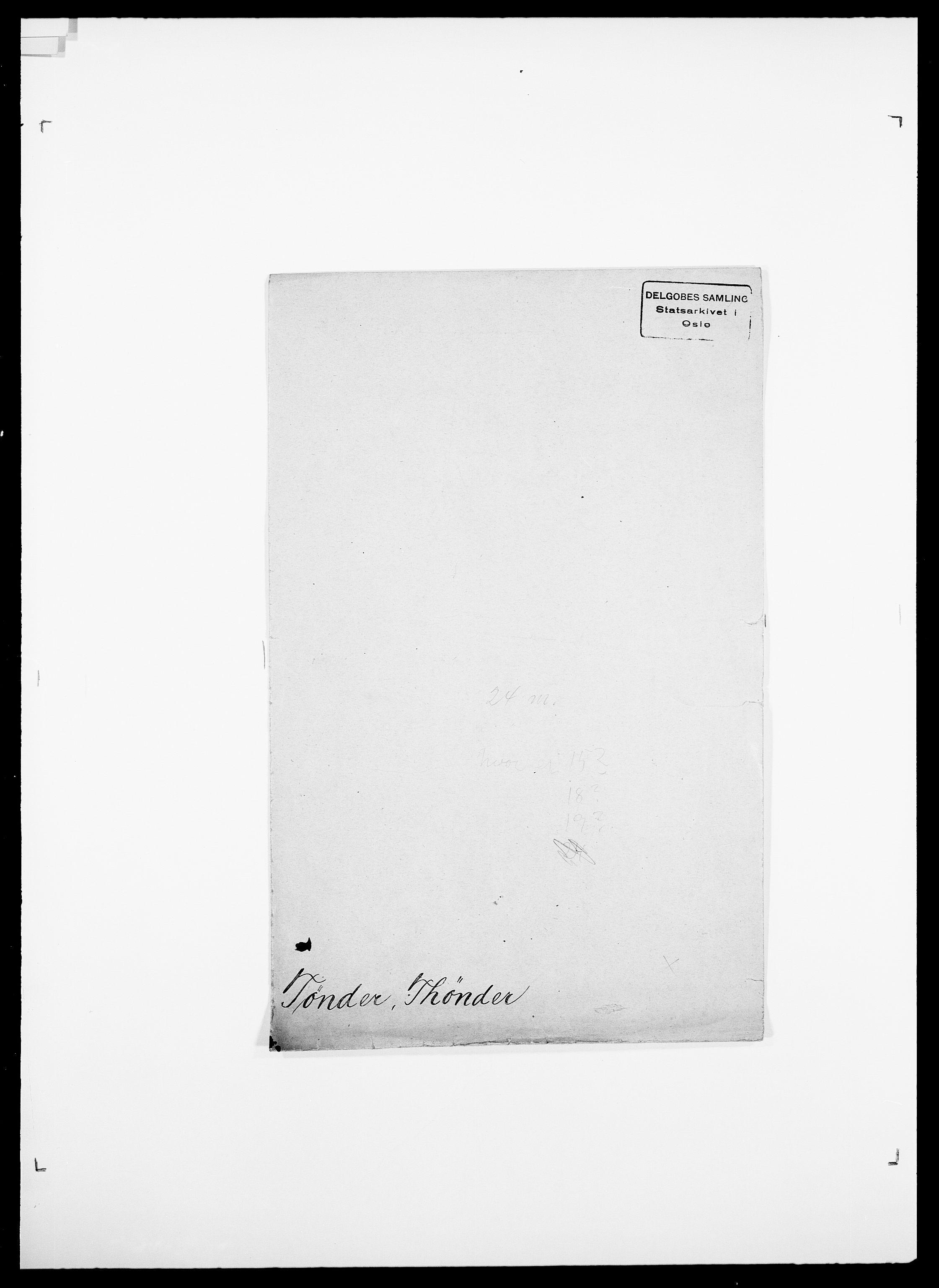 SAO, Delgobe, Charles Antoine - samling, D/Da/L0039: Thorsen - Urup, s. 535