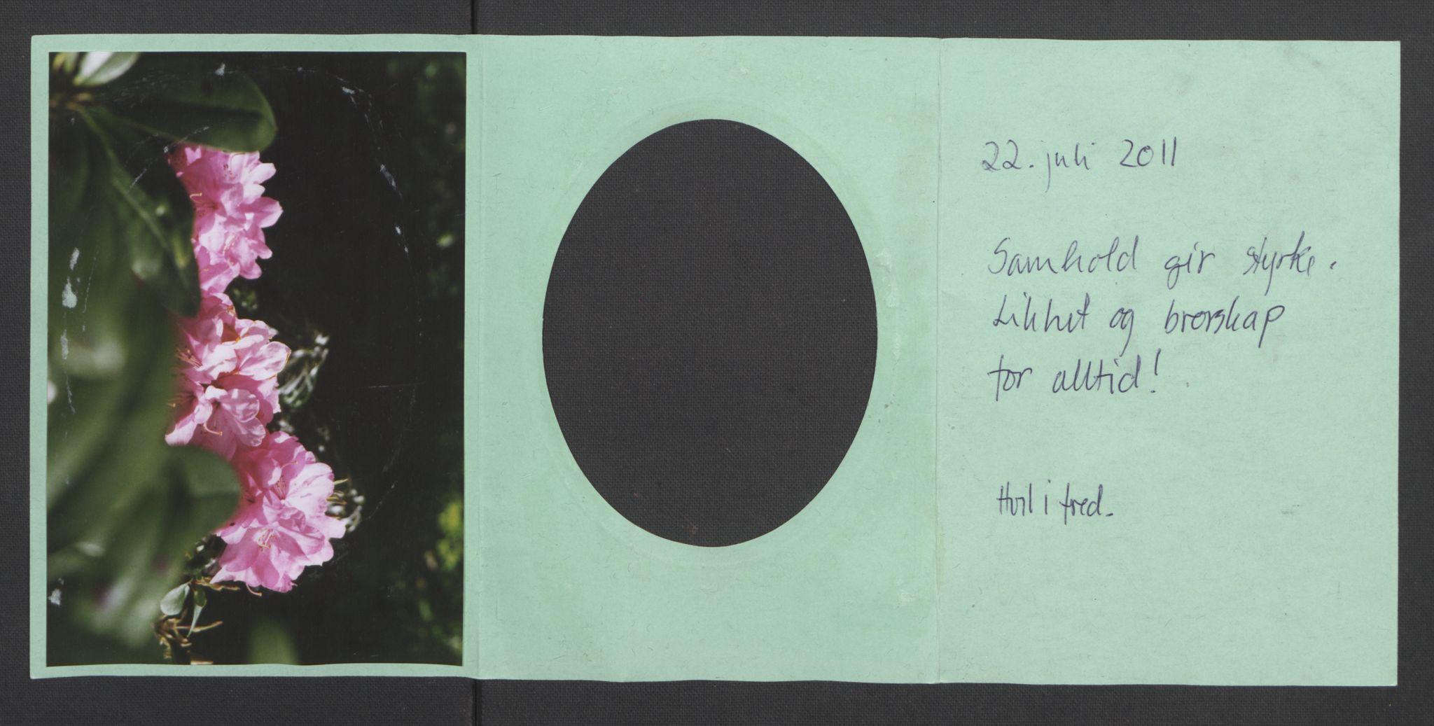 RA, Minnemateriale etter 22.07.2011, 2011, s. 1158