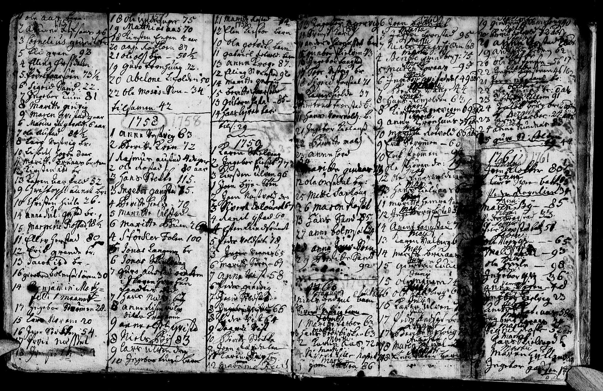 SAT, Ministerialprotokoller, klokkerbøker og fødselsregistre - Nord-Trøndelag, 730/L0272: Ministerialbok nr. 730A01, 1733-1764, s. 162