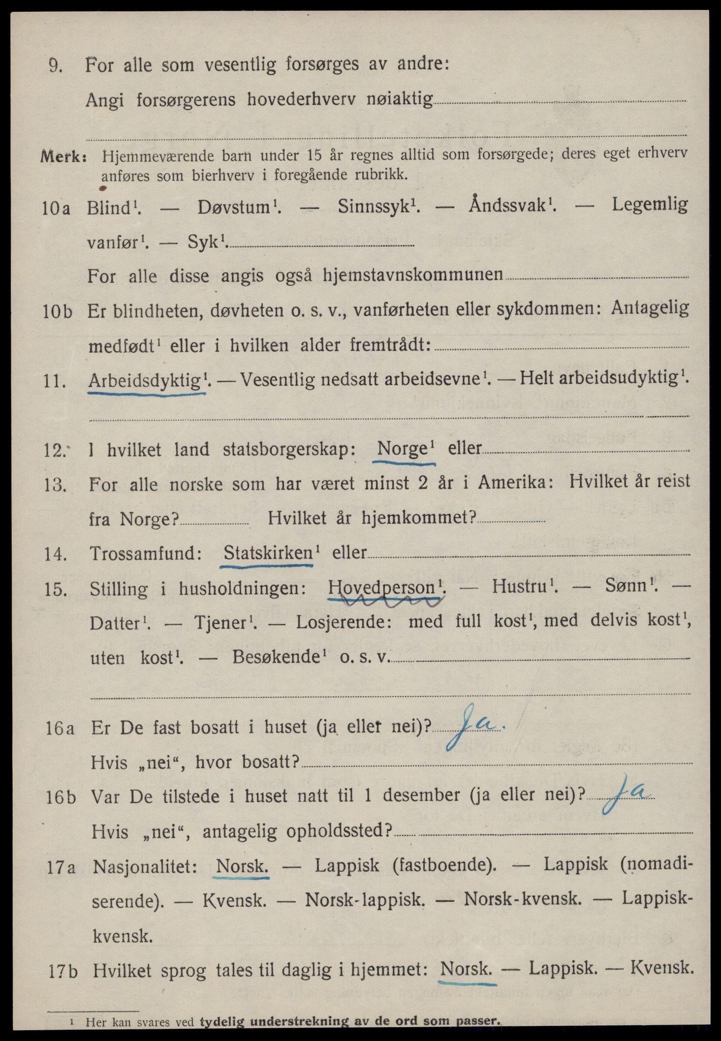 SAT, Folketelling 1920 for 1634 Oppdal herred, 1920, s. 10178