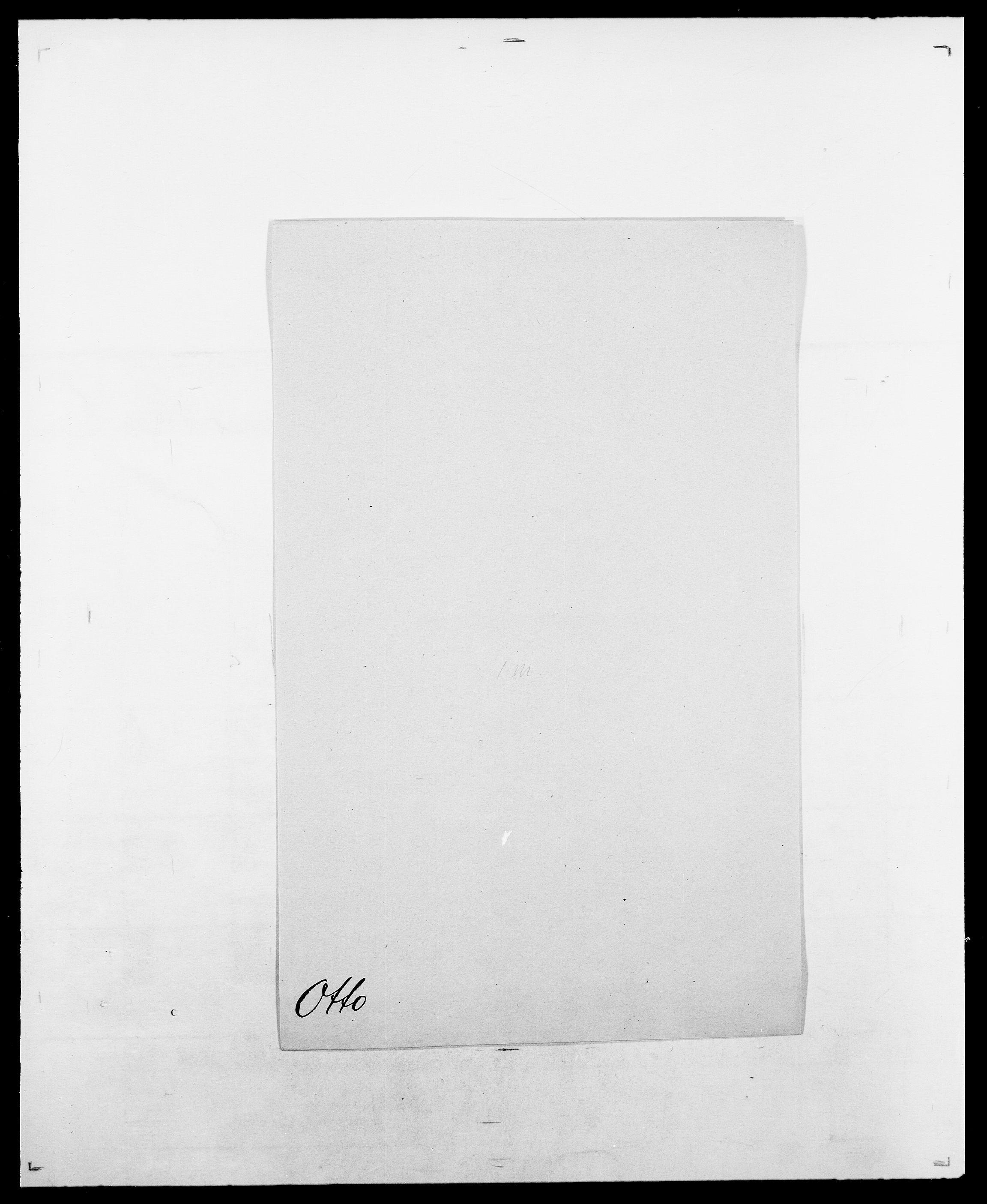 SAO, Delgobe, Charles Antoine - samling, D/Da/L0029: Obel - Oxholm, s. 482