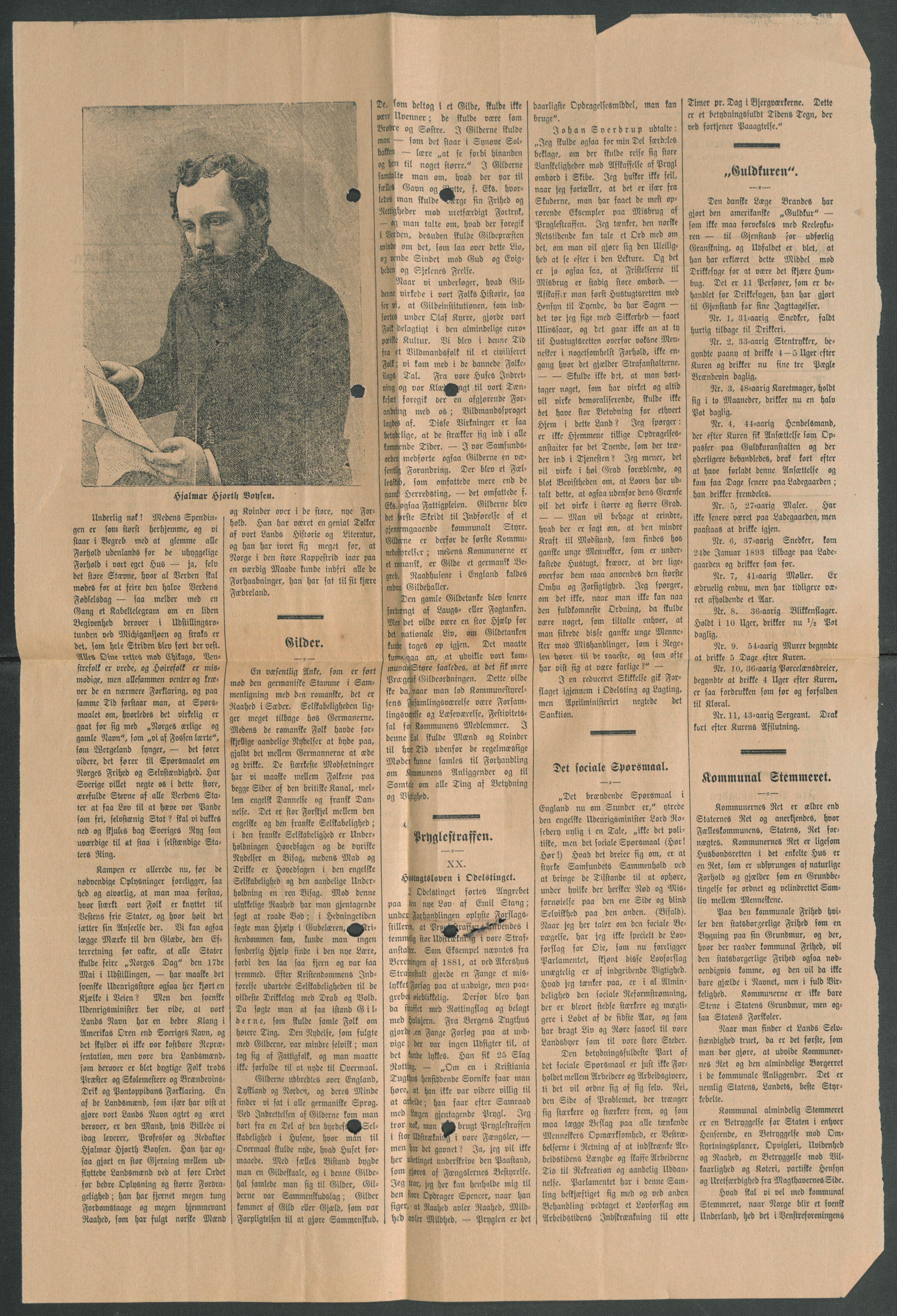 RA, Arbeidskomitéen for Fridtjof Nansens polarekspedisjon, D/L0003: Innk. brev og telegrammer vedr. proviant og utrustning, 1893, s. 406