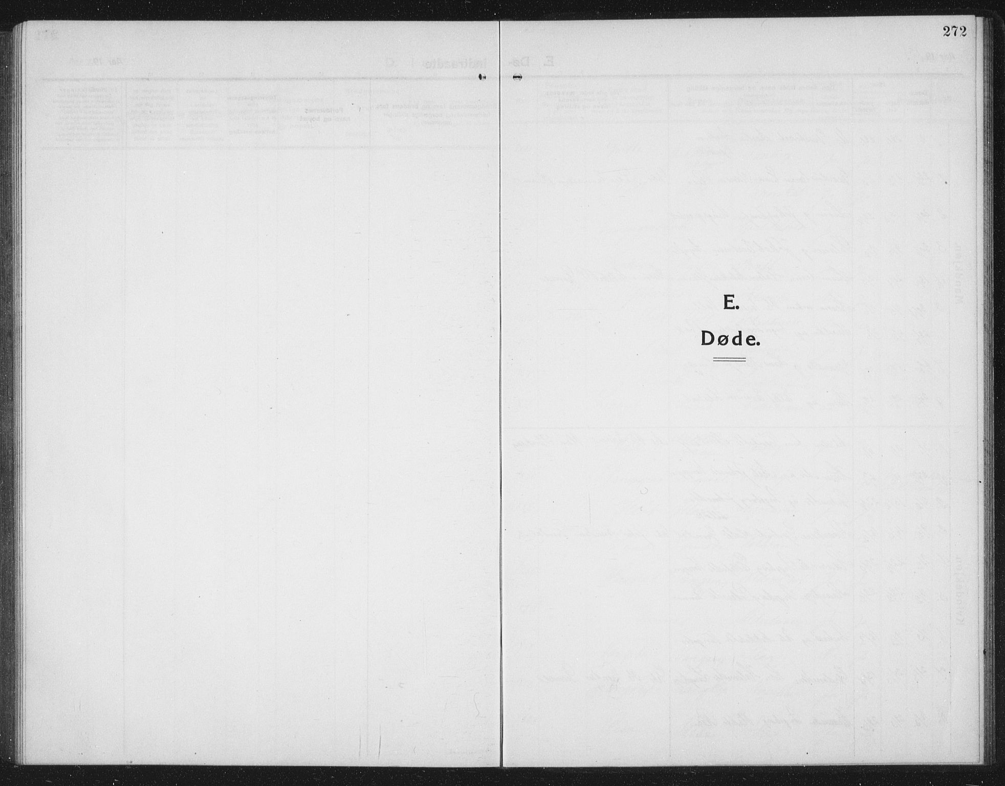 SAT, Ministerialprotokoller, klokkerbøker og fødselsregistre - Sør-Trøndelag, 674/L0877: Klokkerbok nr. 674C04, 1913-1940, s. 272
