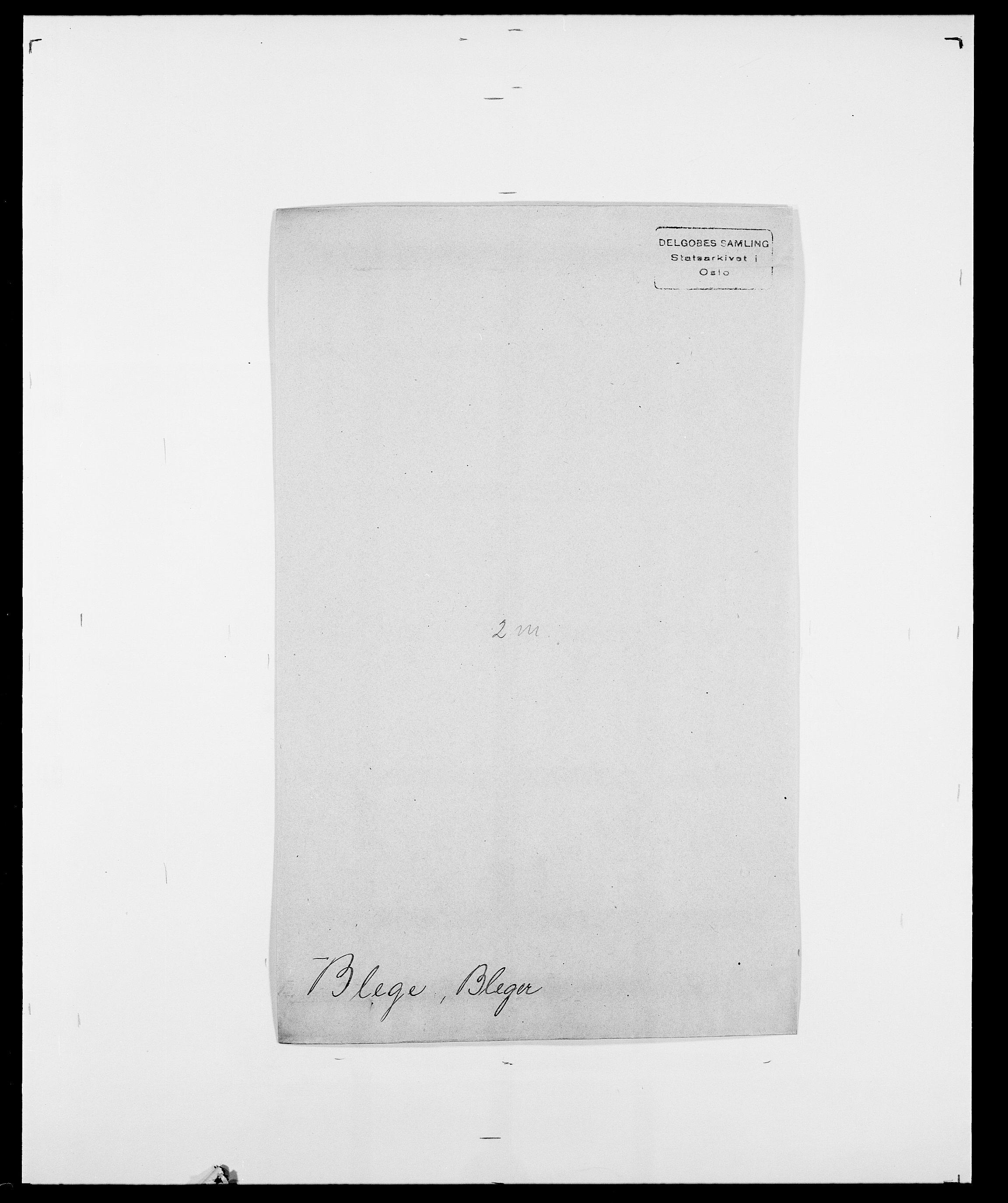SAO, Delgobe, Charles Antoine - samling, D/Da/L0004: Bergendahl - Blære, s. 553