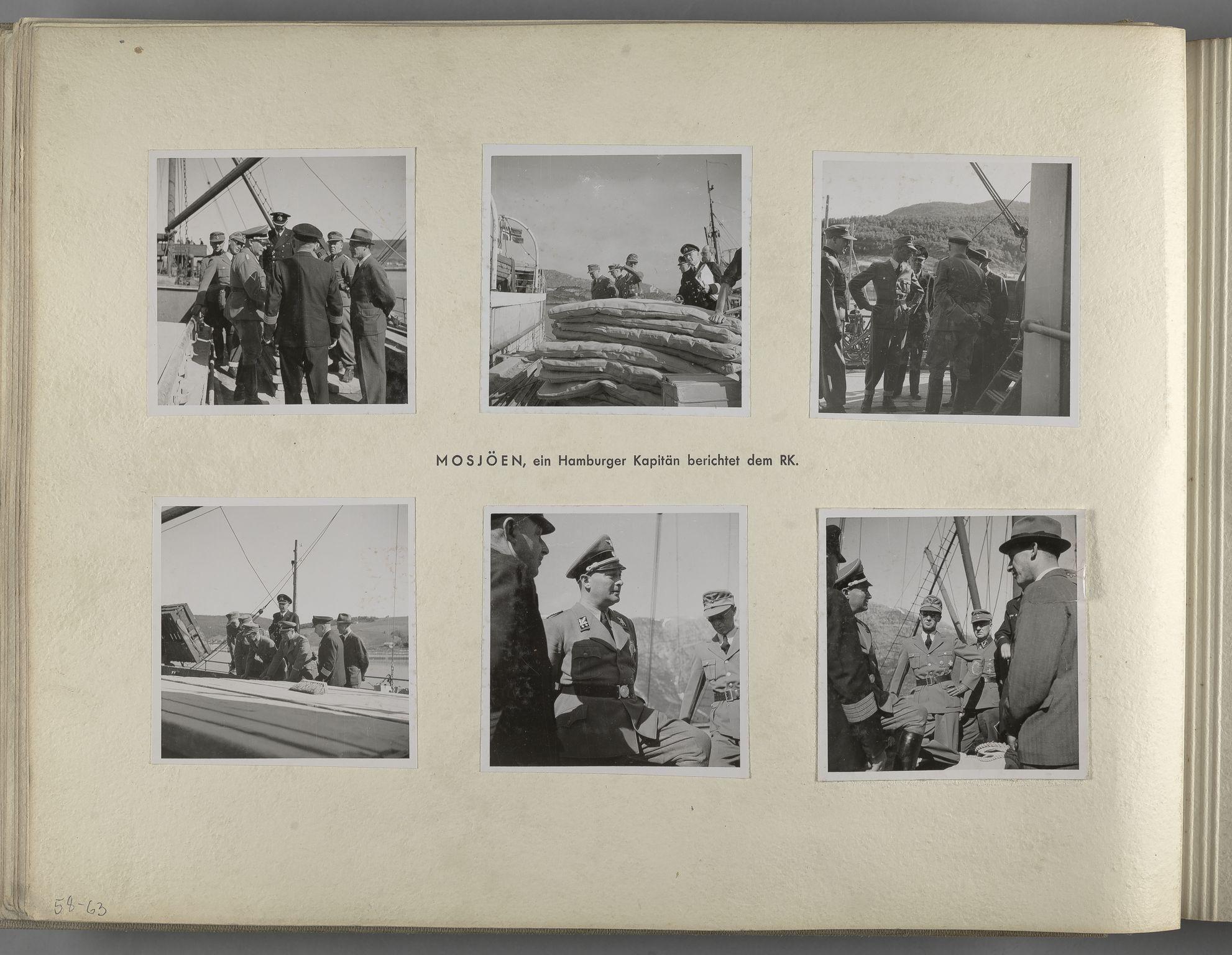 RA, Tyske arkiver, Reichskommissariat, Bildarchiv, U/L0071: Fotoalbum: Mit dem Reichskommissar nach Nordnorwegen und Finnland 10. bis 27. Juli 1942, 1942, s. 24