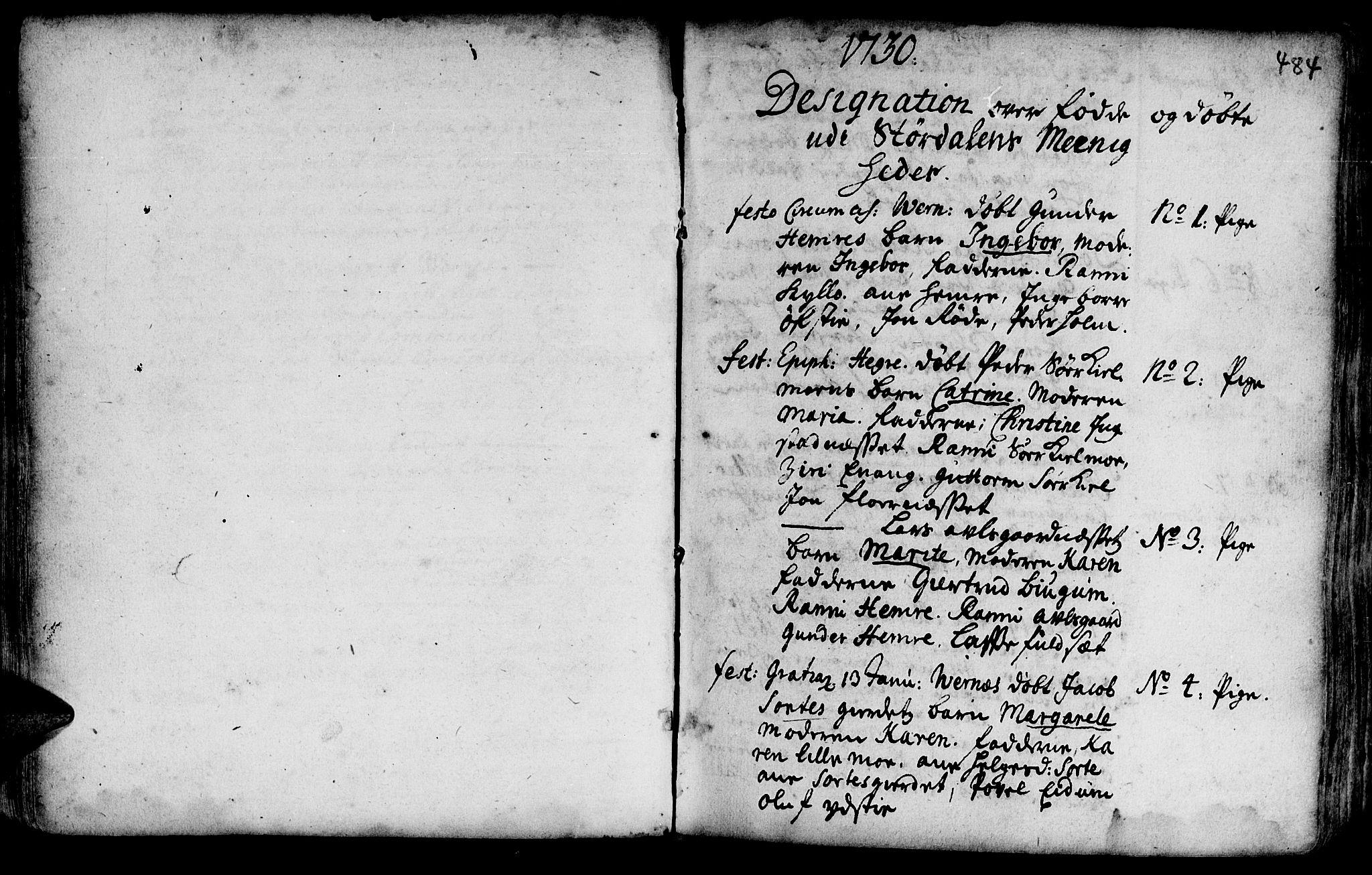 SAT, Ministerialprotokoller, klokkerbøker og fødselsregistre - Nord-Trøndelag, 709/L0055: Ministerialbok nr. 709A03, 1730-1739, s. 483-484