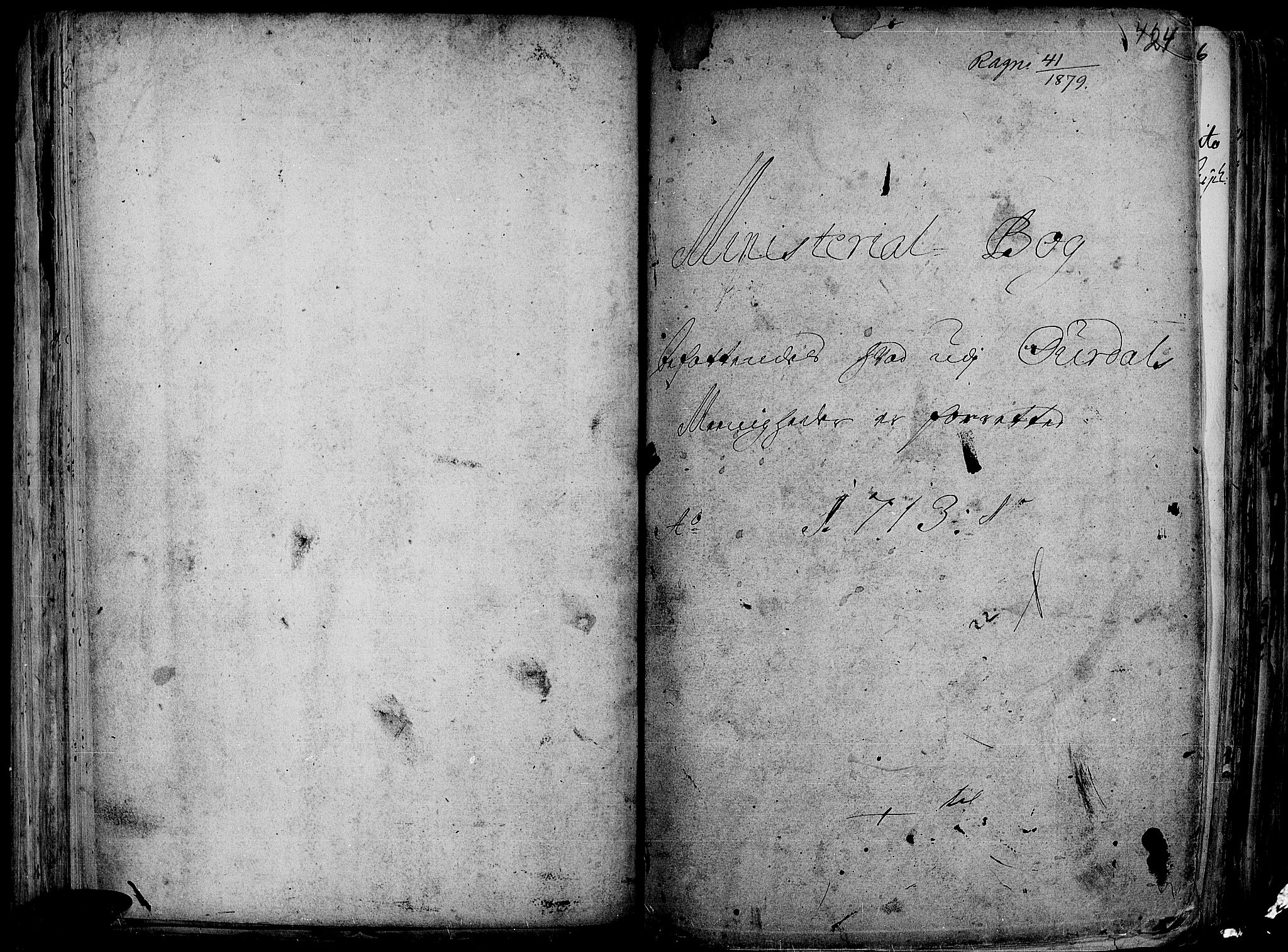 SAH, Aurdal prestekontor, Ministerialbok nr. 1-3, 1692-1730, s. 424