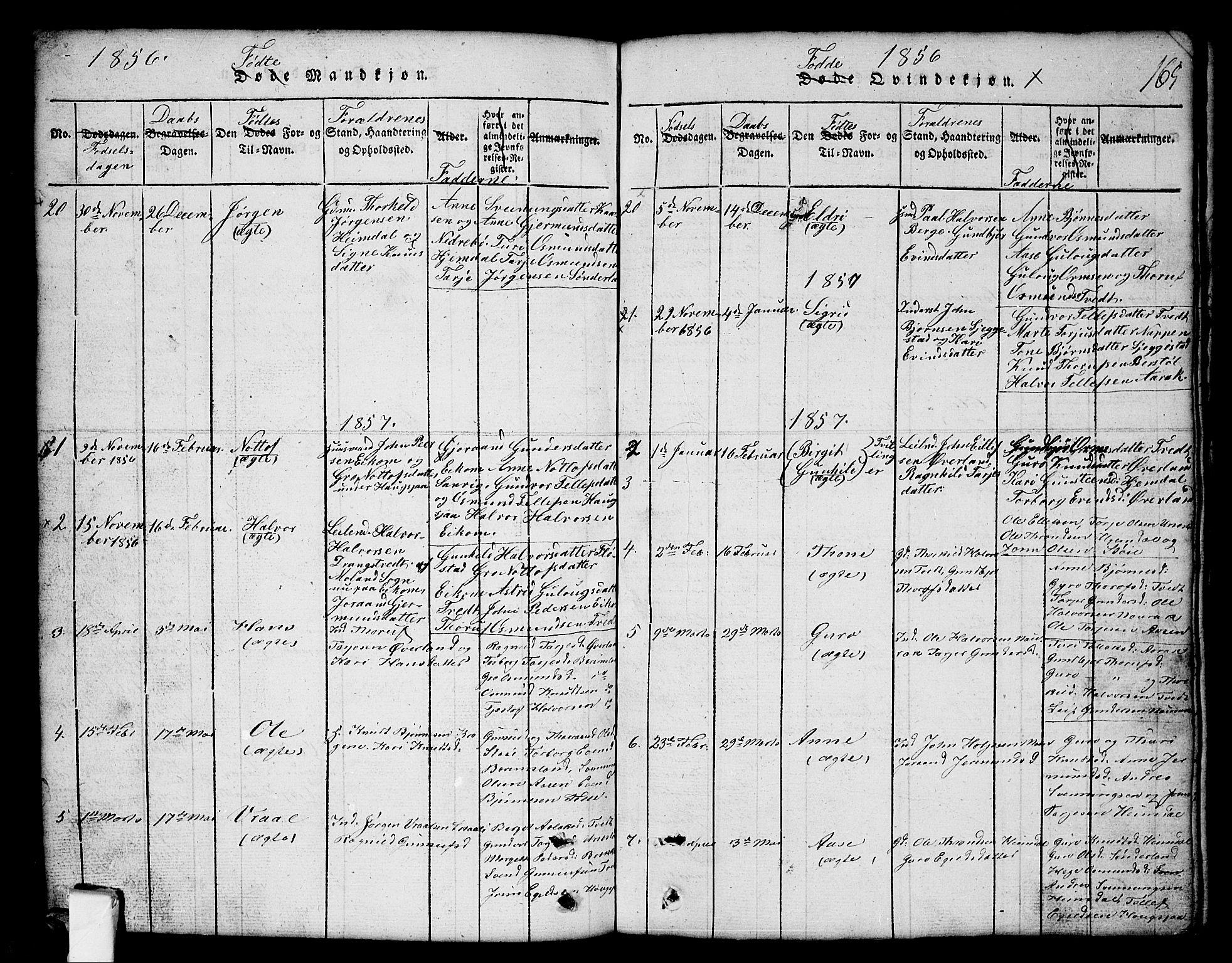 SAKO, Nissedal kirkebøker, G/Gb/L0001: Klokkerbok nr. II 1, 1814-1862, s. 165