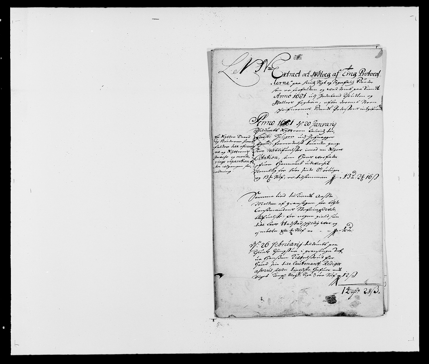 RA, Rentekammeret inntil 1814, Reviderte regnskaper, Fogderegnskap, R18/L1278: Fogderegnskap Hadeland, Toten og Valdres, 1681, s. 137