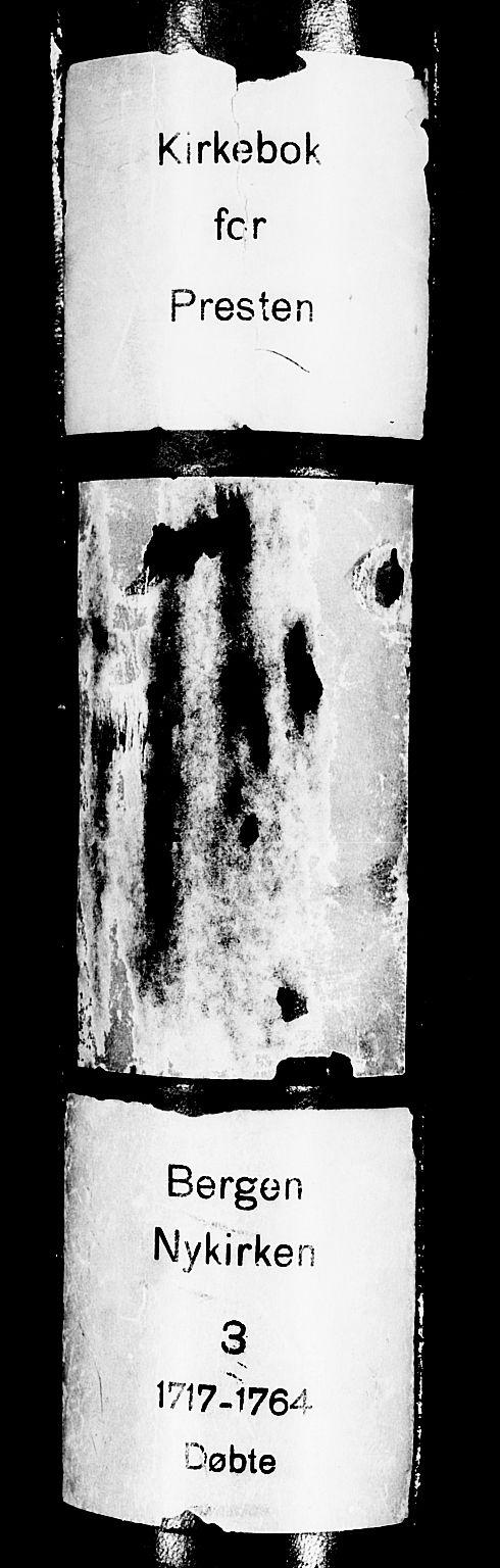 SAB, Nykirken Sokneprestembete, H/Haa: Ministerialbok nr. A 3, 1717-1764