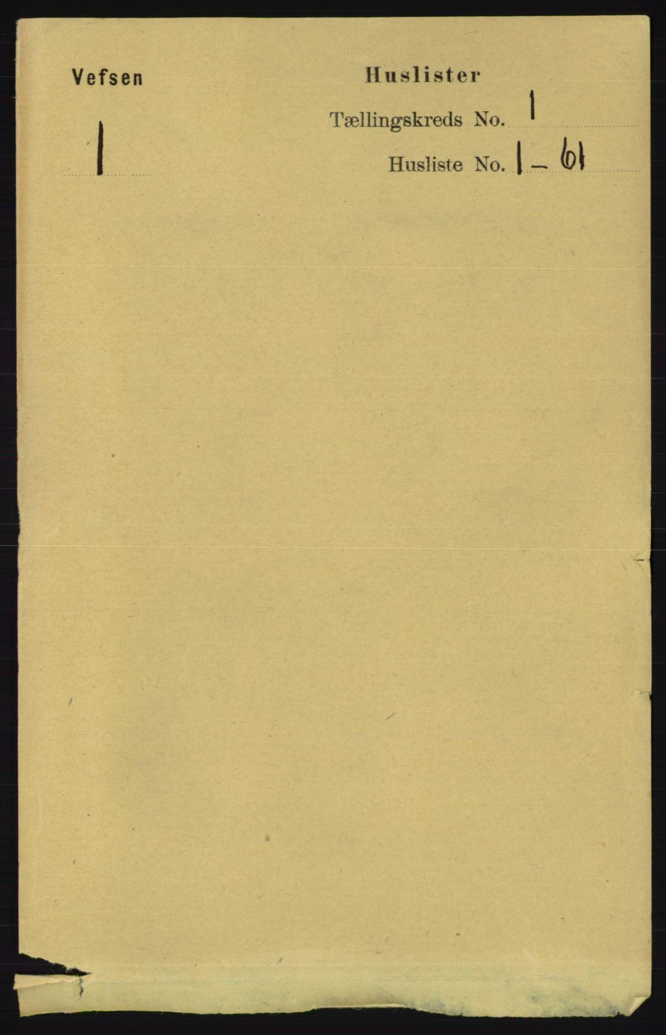 RA, Folketelling 1891 for 1824 Vefsn herred, 1891, s. 32