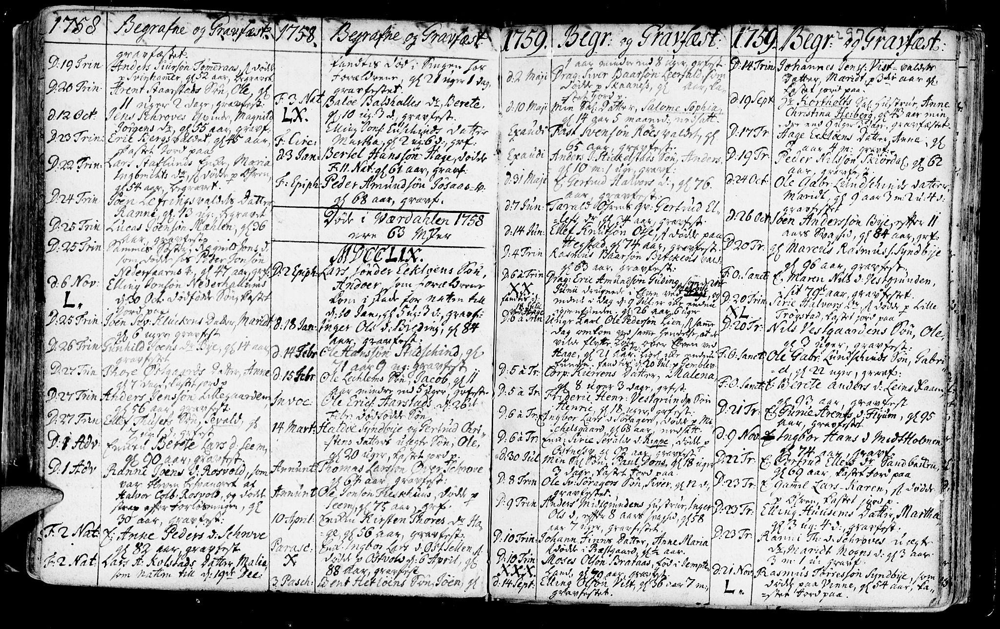 SAT, Ministerialprotokoller, klokkerbøker og fødselsregistre - Nord-Trøndelag, 723/L0231: Ministerialbok nr. 723A02, 1748-1780, s. 297