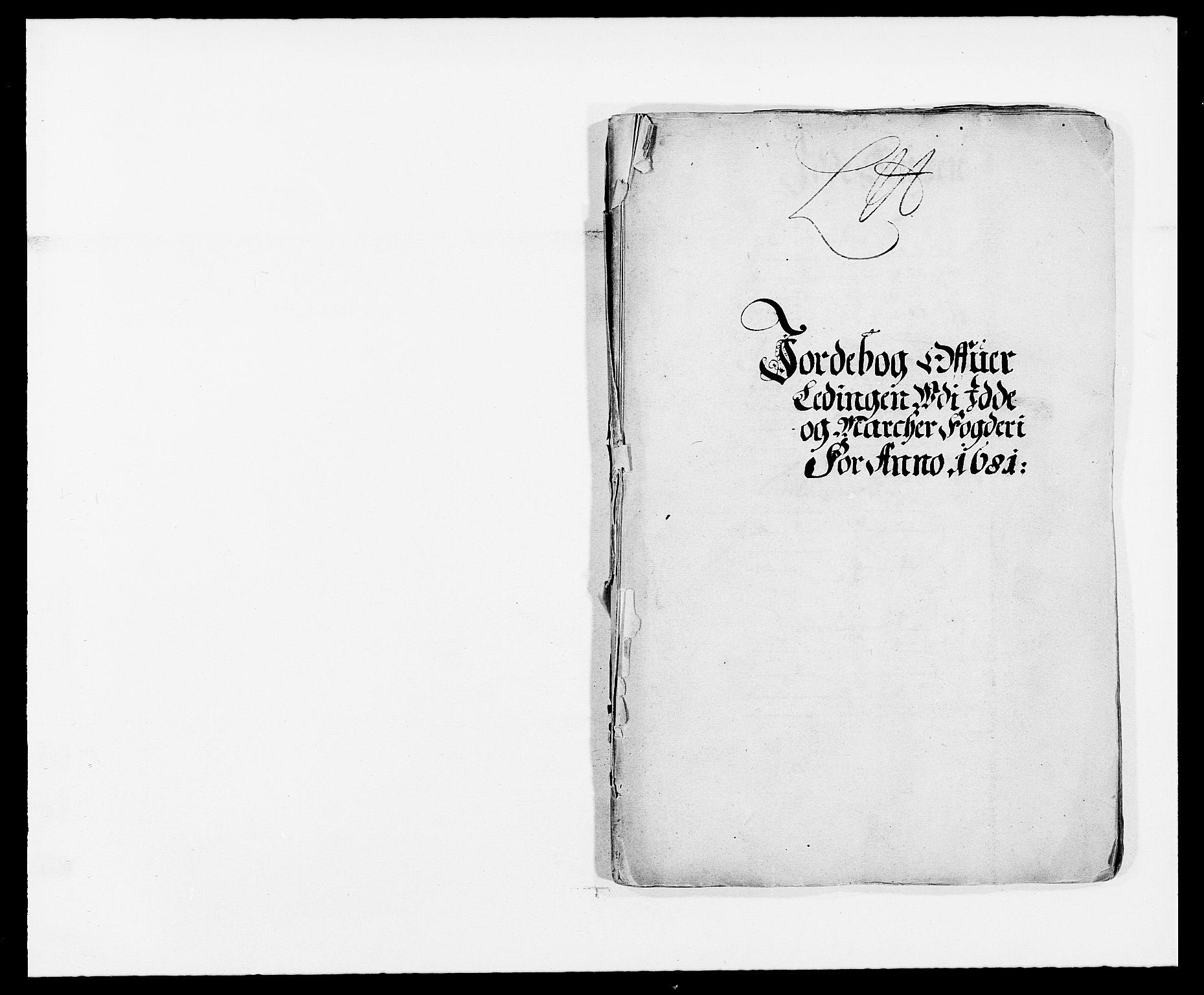 RA, Rentekammeret inntil 1814, Reviderte regnskaper, Fogderegnskap, R01/L0003: Fogderegnskap Idd og Marker, 1678-1681, s. 6