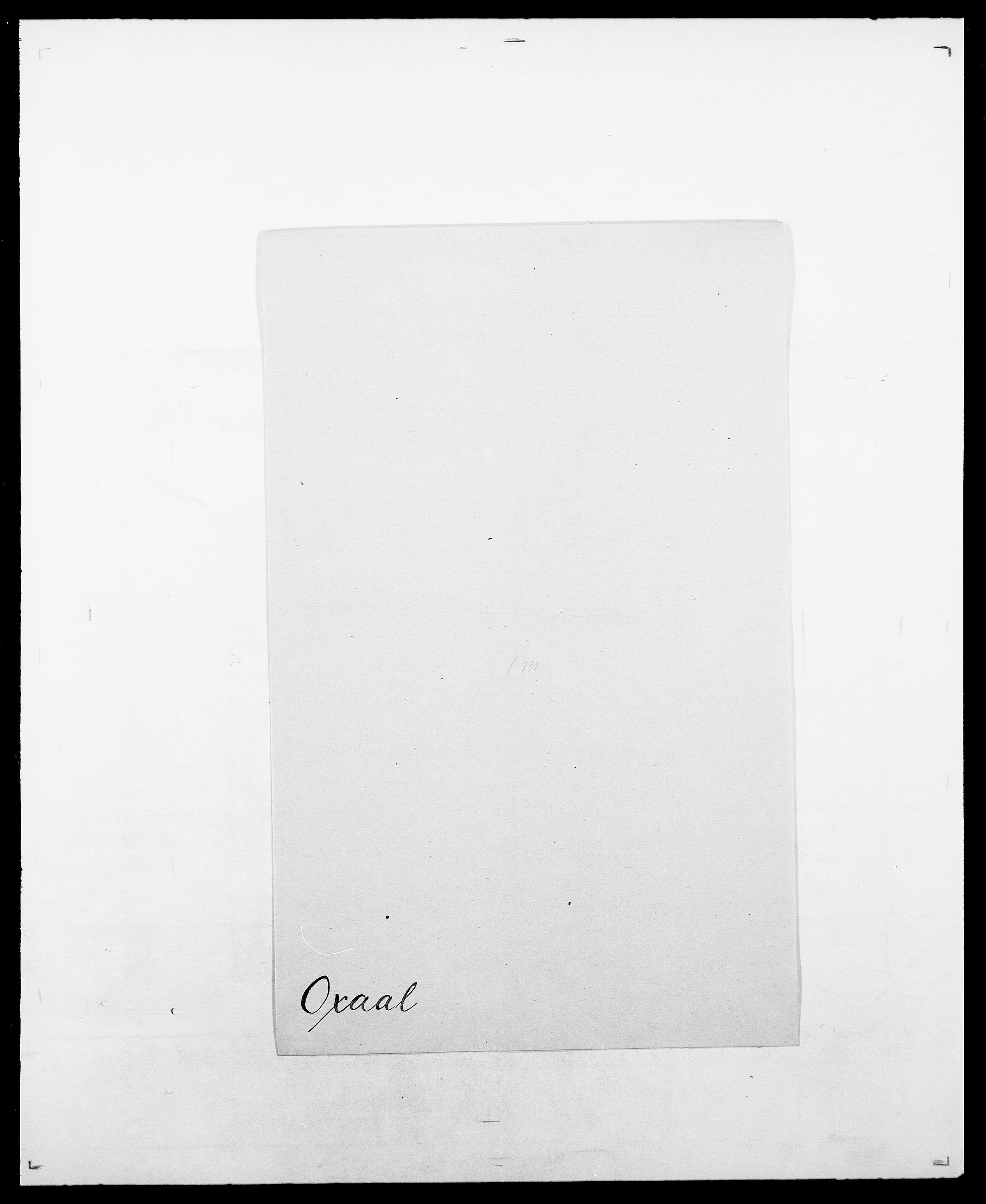 SAO, Delgobe, Charles Antoine - samling, D/Da/L0029: Obel - Oxholm, s. 504