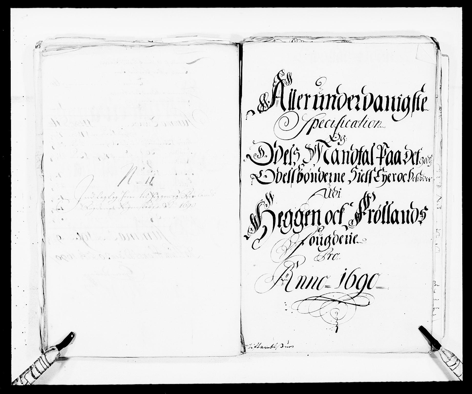 RA, Rentekammeret inntil 1814, Reviderte regnskaper, Fogderegnskap, R06/L0282: Fogderegnskap Heggen og Frøland, 1687-1690, s. 277