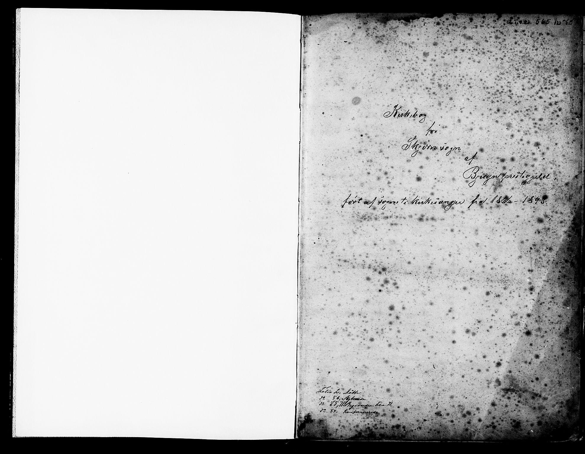 SAT, Ministerialprotokoller, klokkerbøker og fødselsregistre - Sør-Trøndelag, 653/L0657: Klokkerbok nr. 653C01, 1866-1893, s. 1
