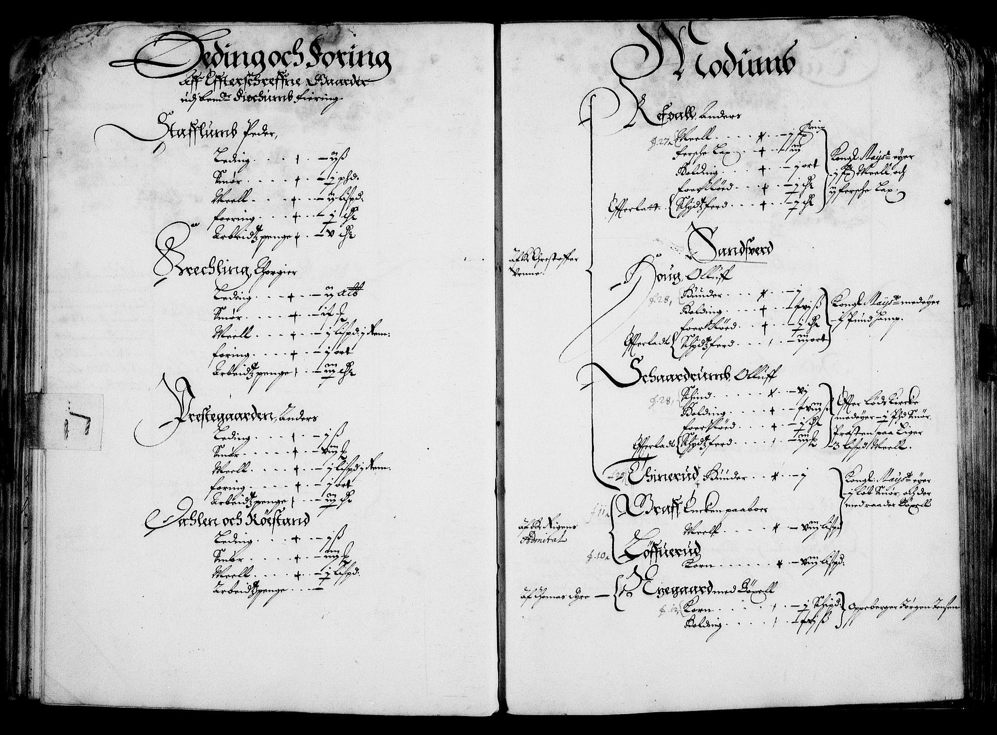 RA, Rentekammeret inntil 1814, Realistisk ordnet avdeling, On/L0001: Statens gods, 1651, s. 51