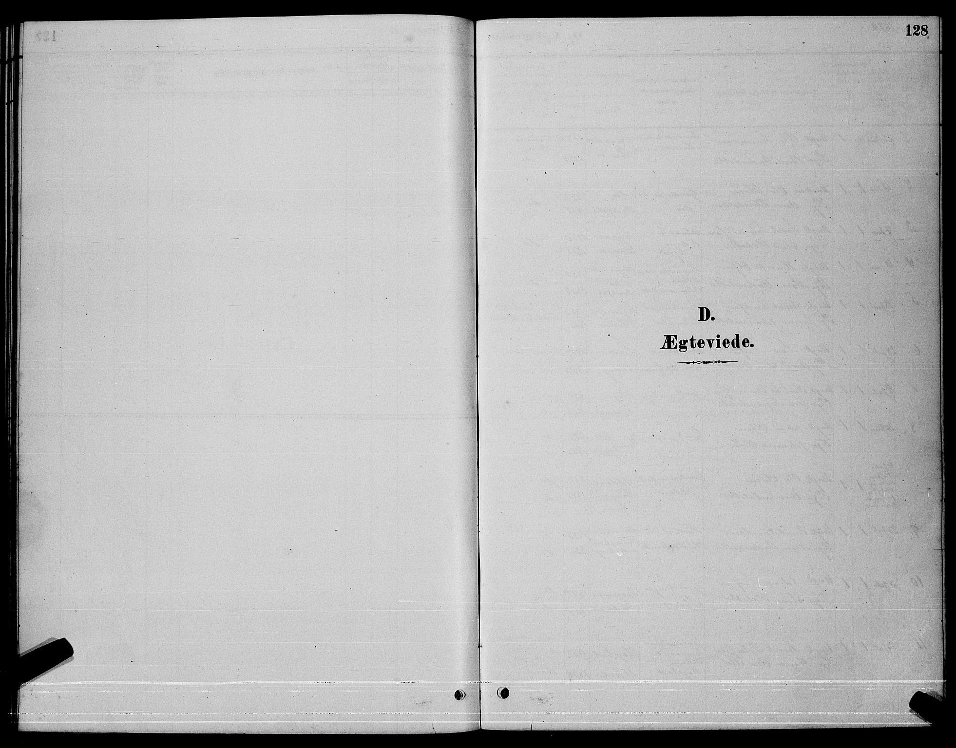 SAT, Ministerialprotokoller, klokkerbøker og fødselsregistre - Sør-Trøndelag, 630/L0504: Klokkerbok nr. 630C02, 1879-1898, s. 128