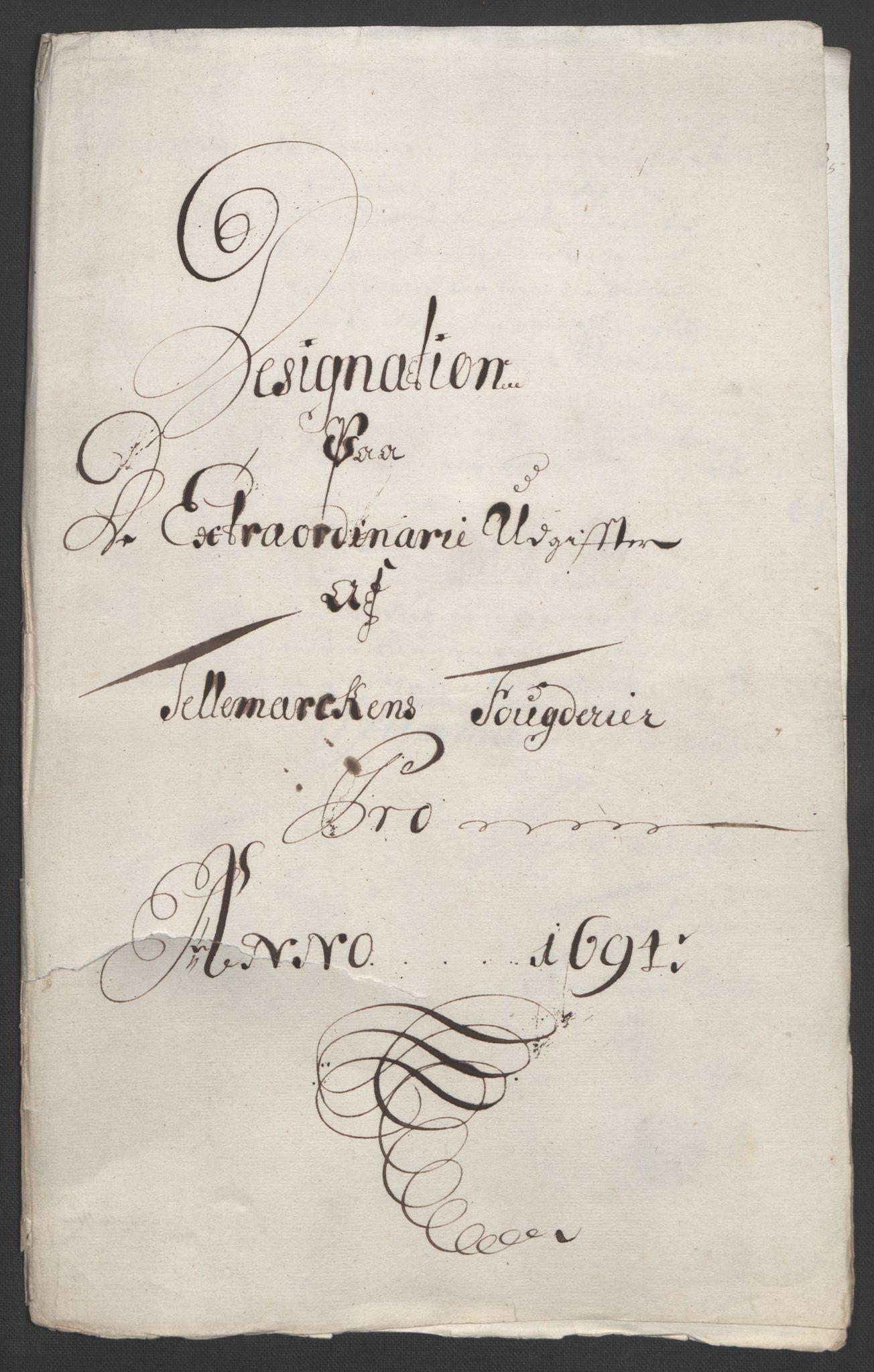 RA, Rentekammeret inntil 1814, Reviderte regnskaper, Fogderegnskap, R36/L2092: Fogderegnskap Øvre og Nedre Telemark og Bamble, 1694, s. 150