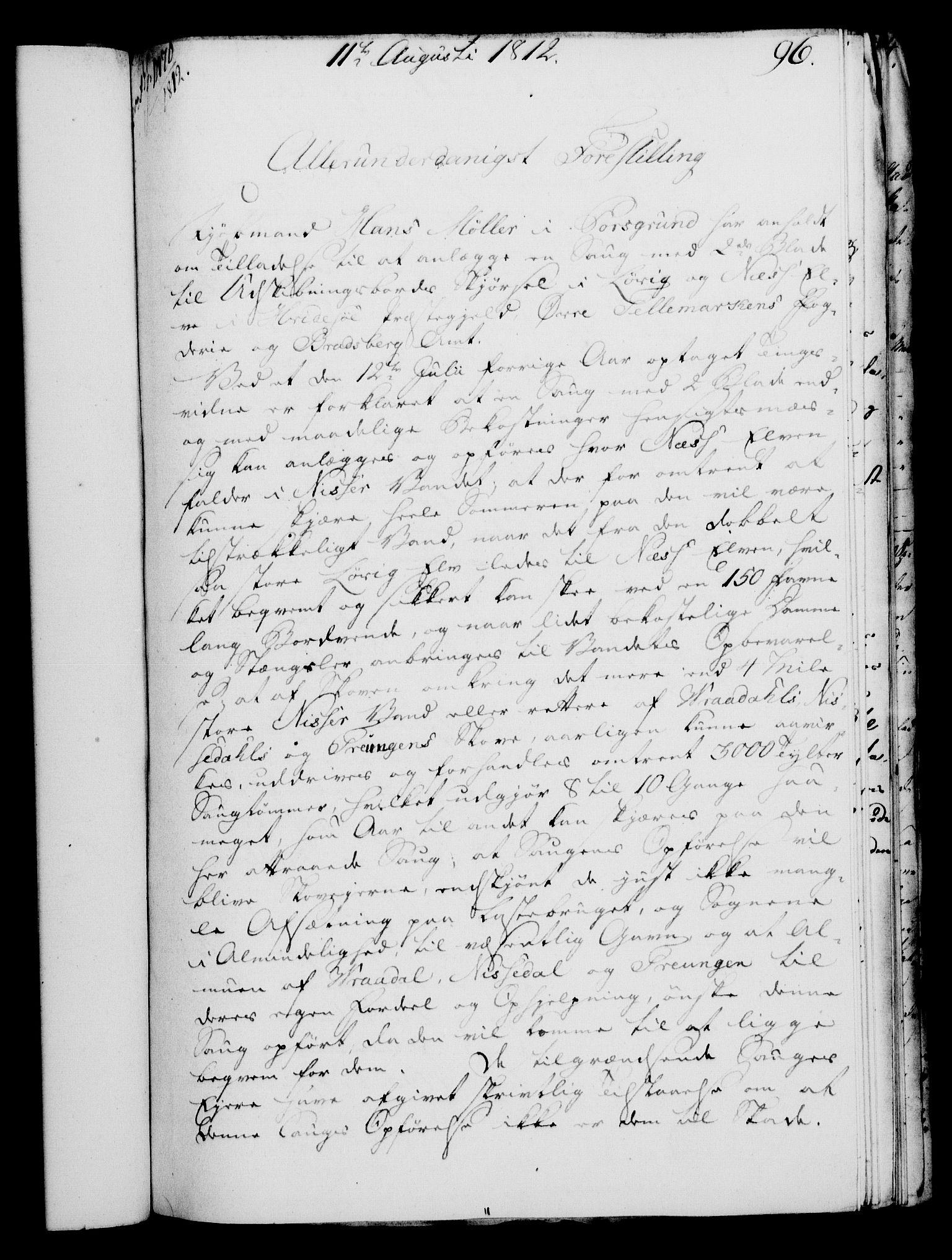 RA, Rentekammeret, Kammerkanselliet, G/Gf/Gfa/L0094: Norsk relasjons- og resolusjonsprotokoll (merket RK 52.94), 1812, s. 386