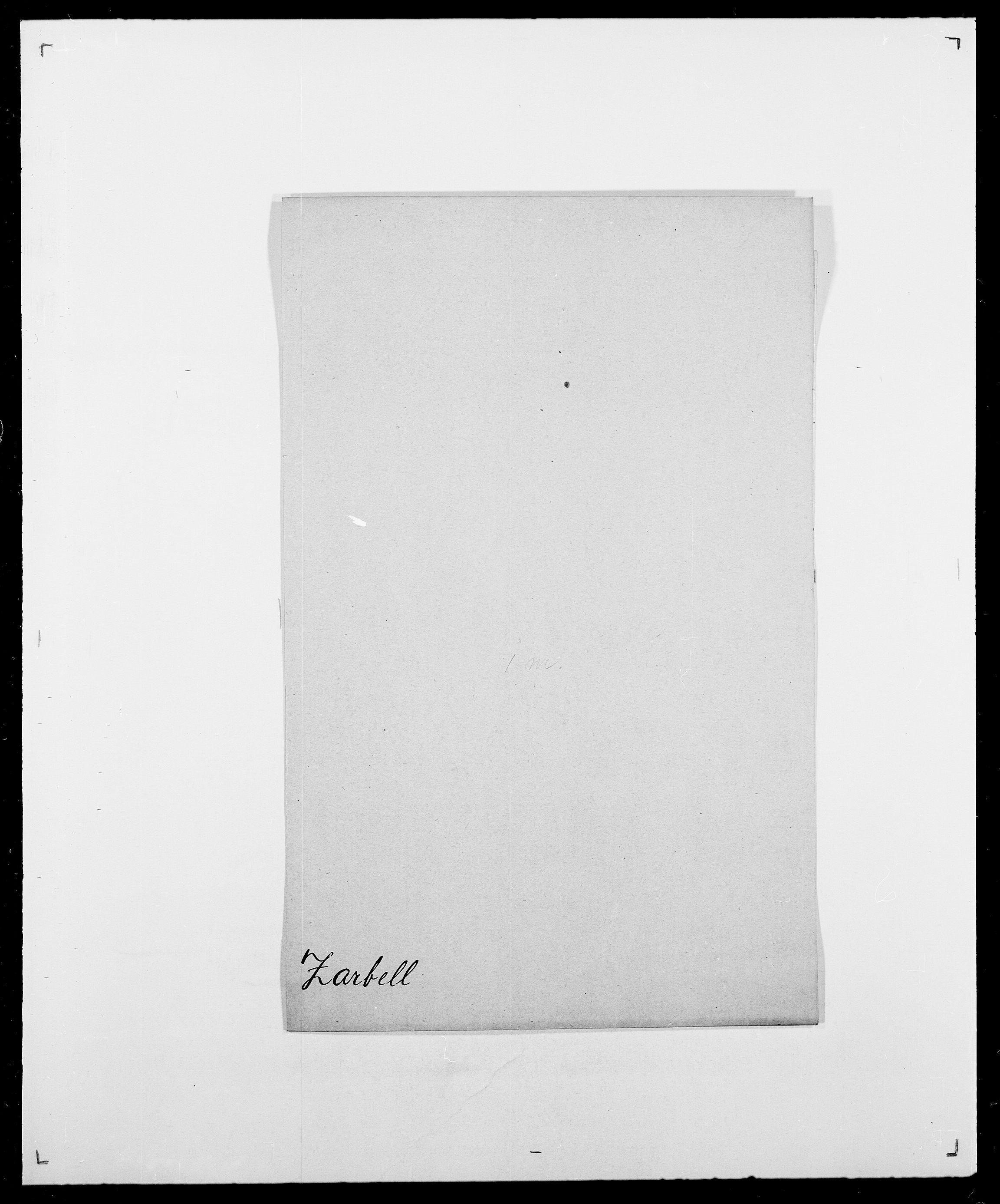 SAO, Delgobe, Charles Antoine - samling, D/Da/L0043: Wulfsberg - v. Zanten, s. 97