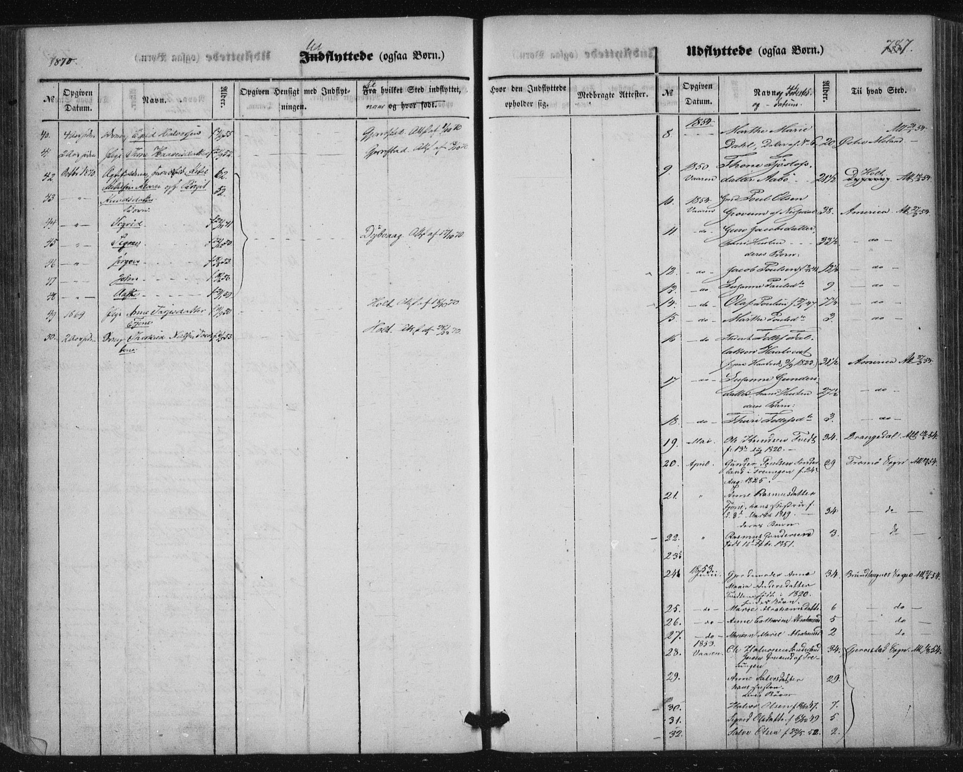 SAKO, Nissedal kirkebøker, F/Fa/L0003: Ministerialbok nr. I 3, 1846-1870, s. 786-787