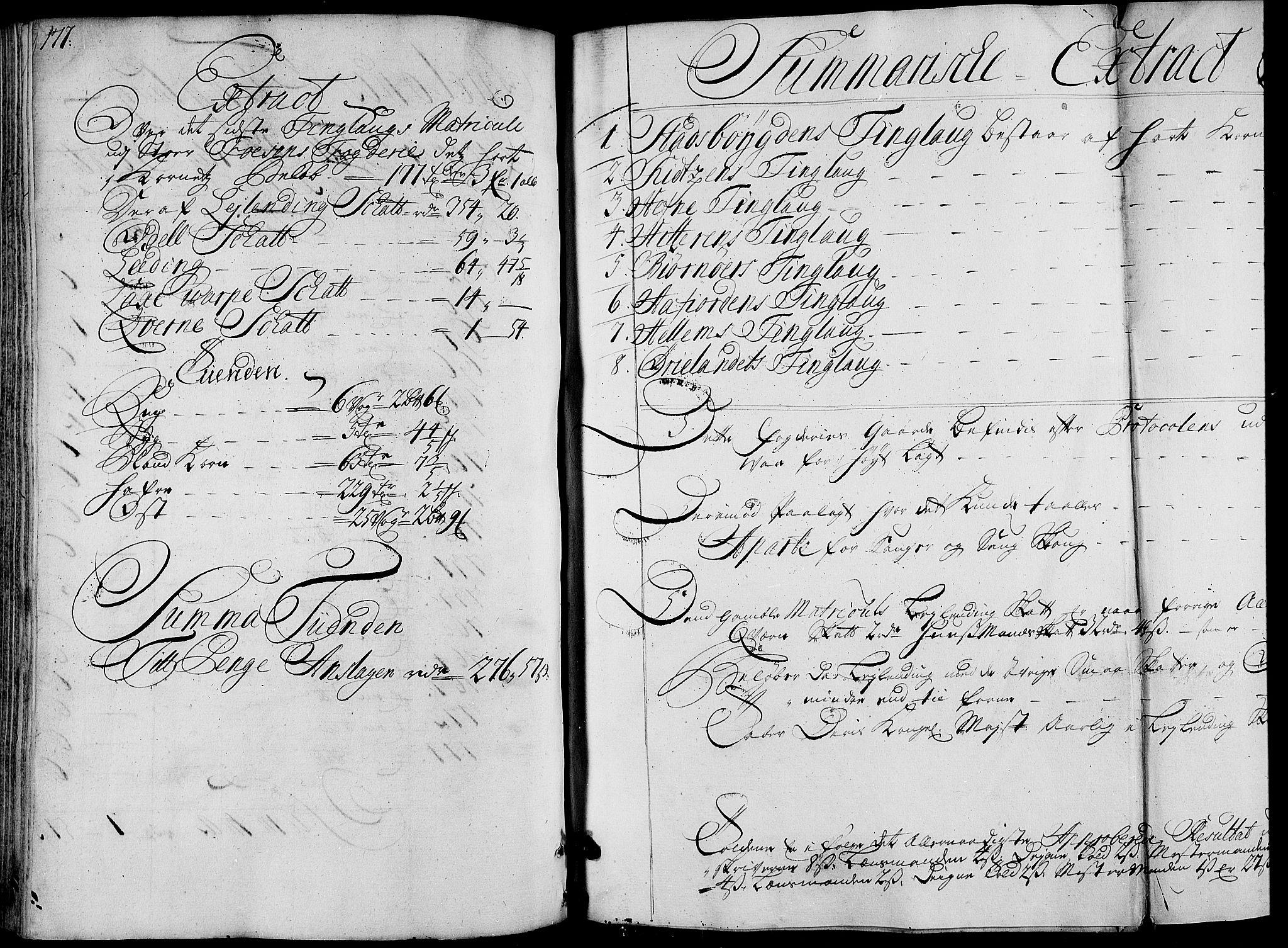 RA, Rentekammeret inntil 1814, Realistisk ordnet avdeling, N/Nb/Nbf/L0163: Fosen matrikkelprotokoll, 1723, s. 177