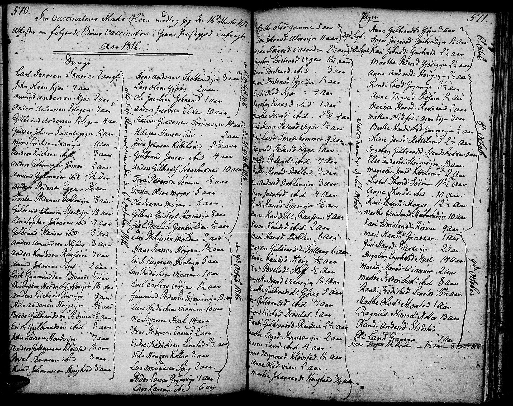 SAH, Gran prestekontor, Ministerialbok nr. 6, 1787-1824, s. 570-571