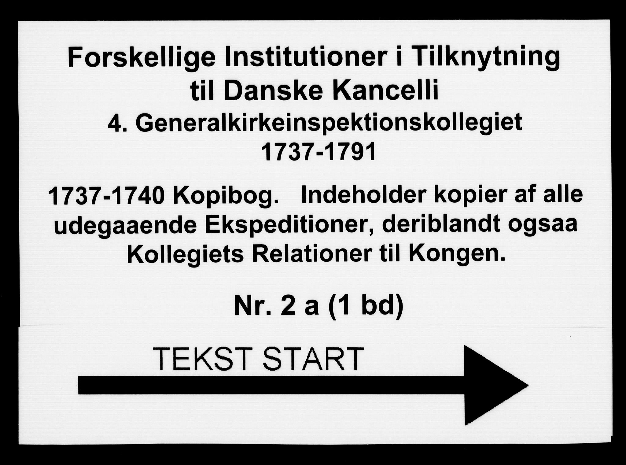 DRA, Generalkirkeinspektionskollegiet, F4-02/F4-02-01: Kopibog, 1737-1740