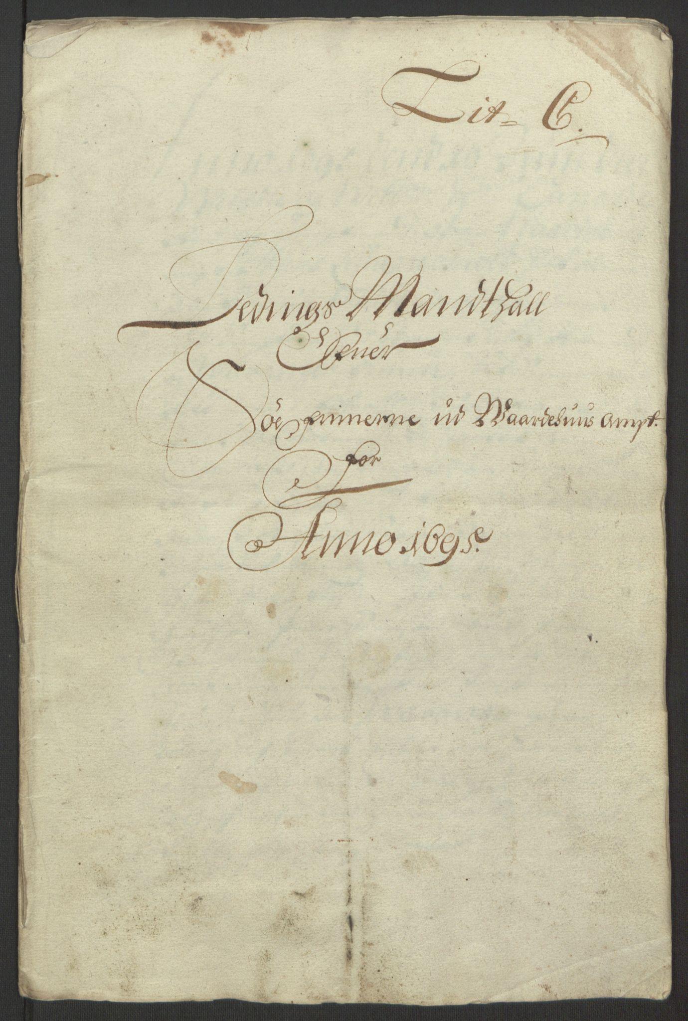 RA, Rentekammeret inntil 1814, Reviderte regnskaper, Fogderegnskap, R69/L4851: Fogderegnskap Finnmark/Vardøhus, 1691-1700, s. 250
