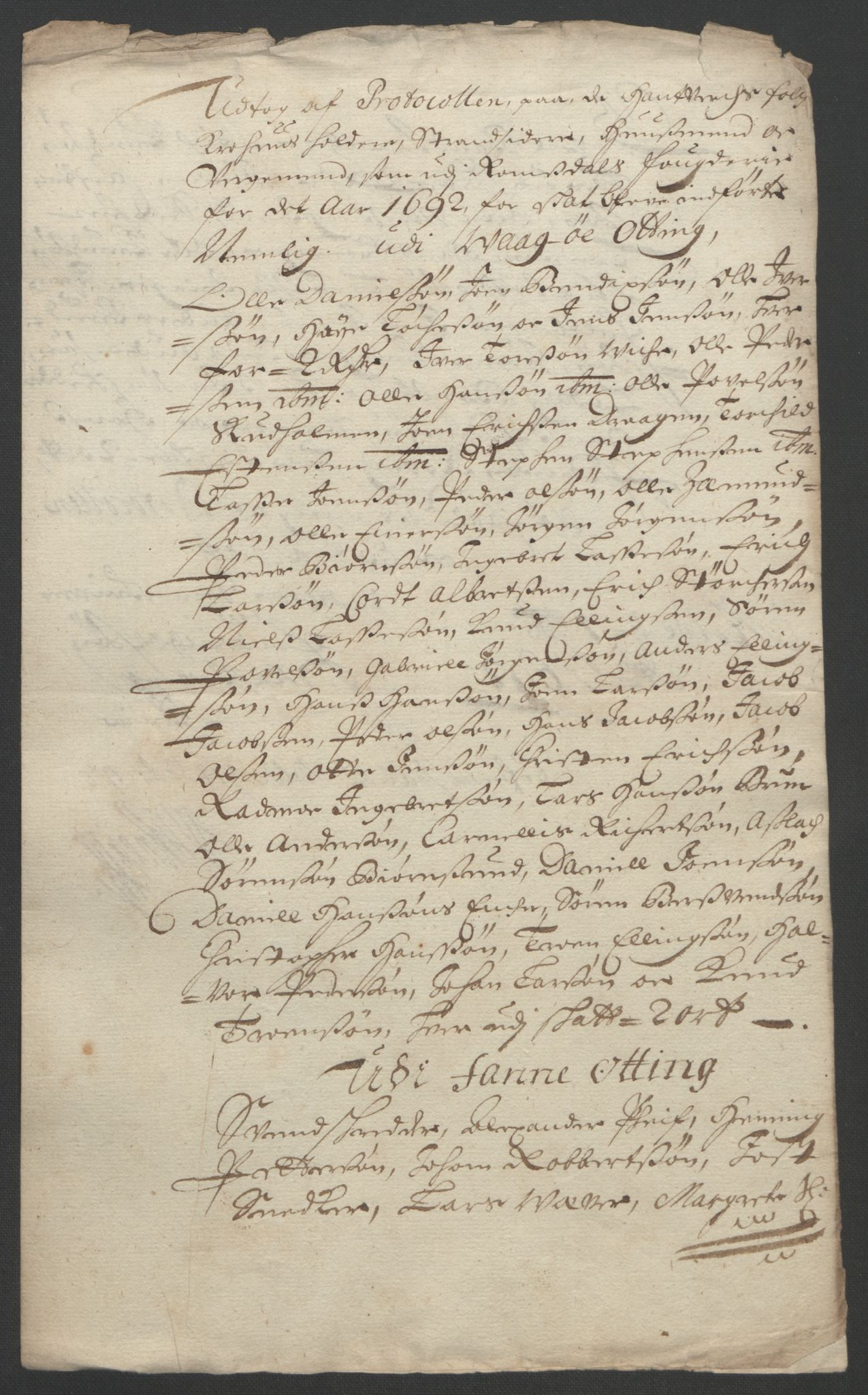 RA, Rentekammeret inntil 1814, Reviderte regnskaper, Fogderegnskap, R55/L3650: Fogderegnskap Romsdal, 1692, s. 176