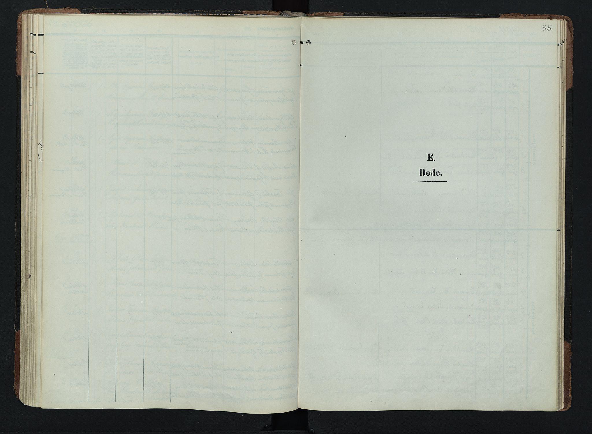 SAH, Lom prestekontor, K/L0011: Ministerialbok nr. 11, 1904-1928, s. 88